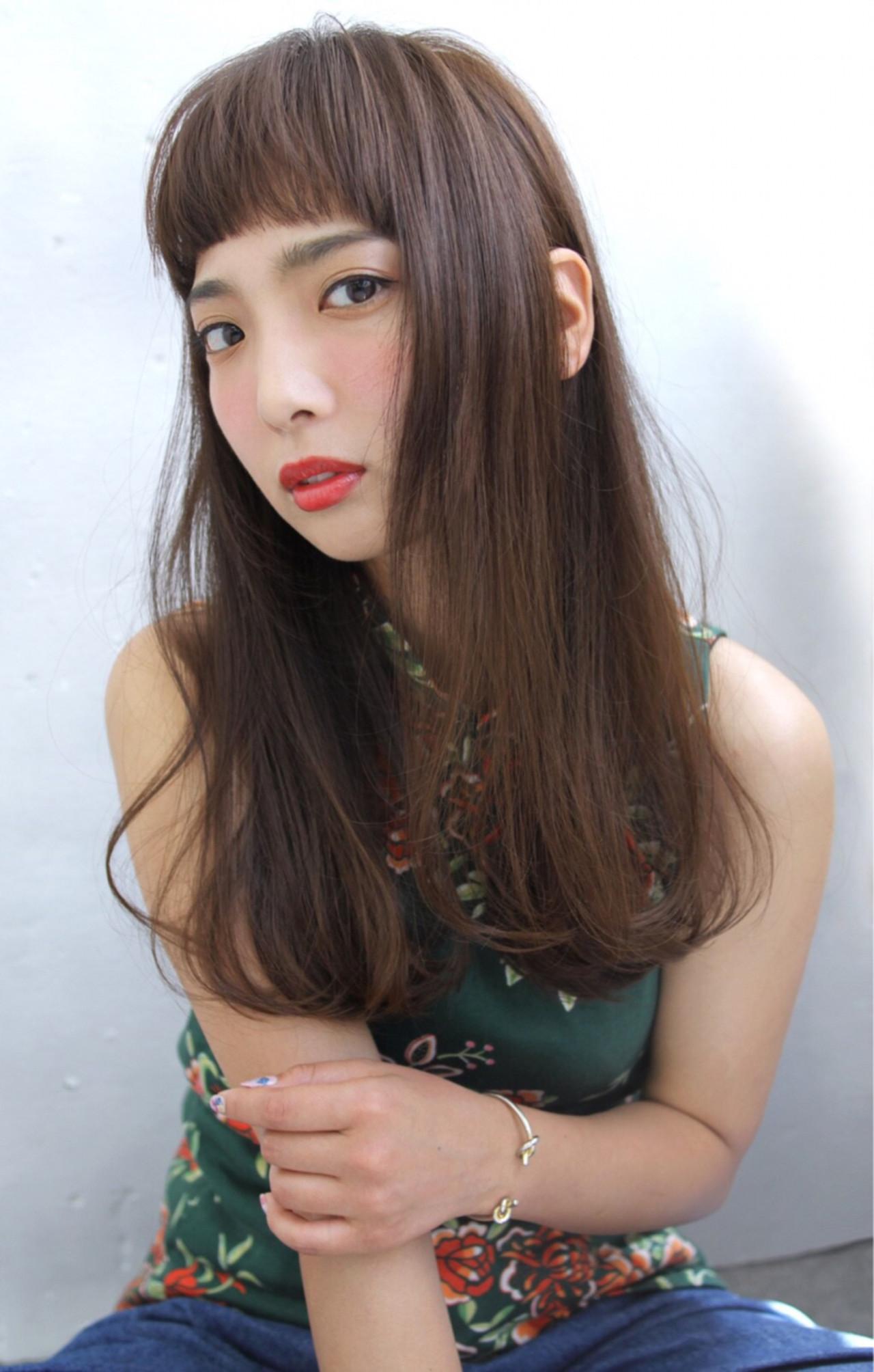 ウェーブ アンニュイ 女子会 ロング ヘアスタイルや髪型の写真・画像