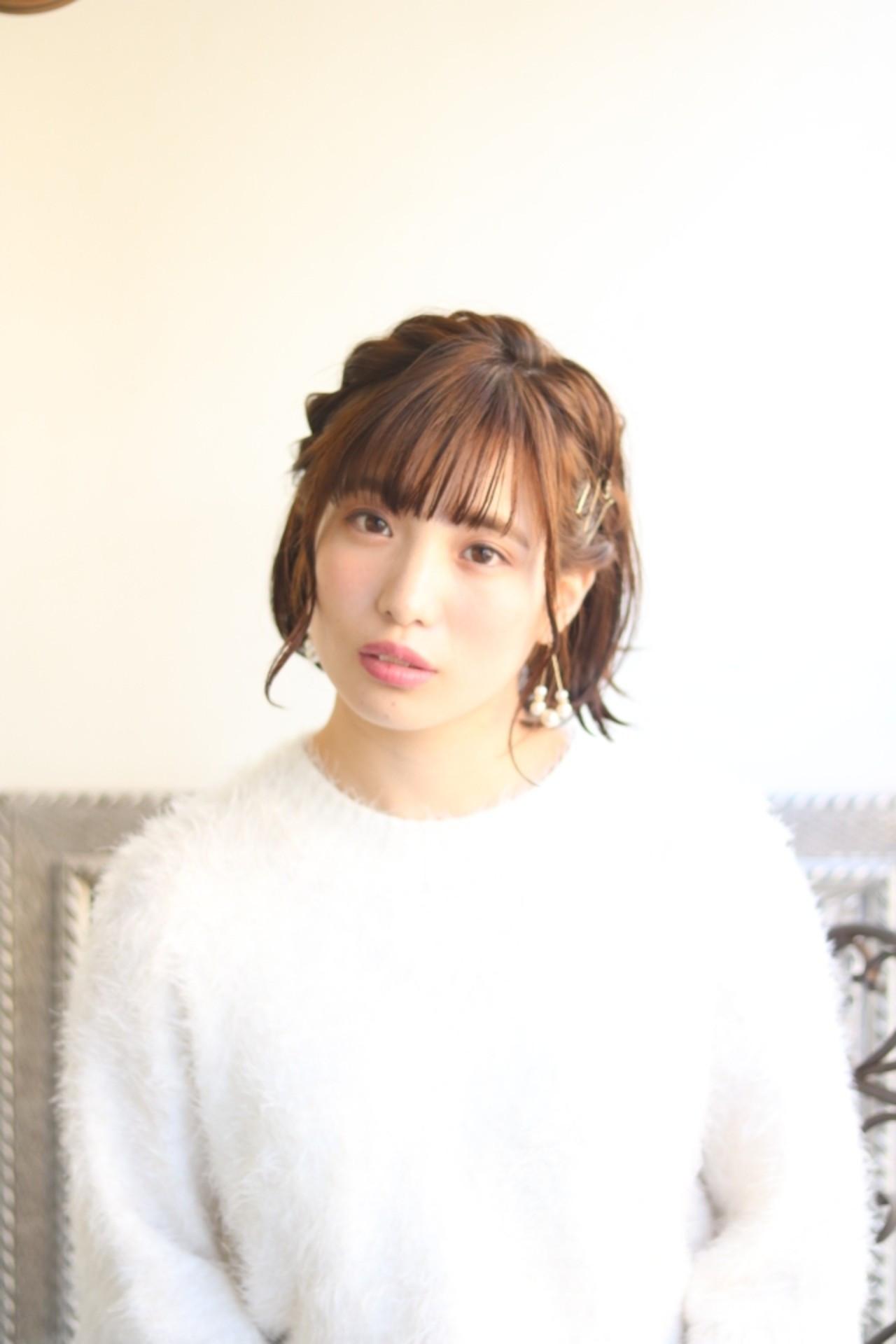 前髪カチューシャでかわいい愛されヘアに♪ 【dress】大杉匡史 | dress