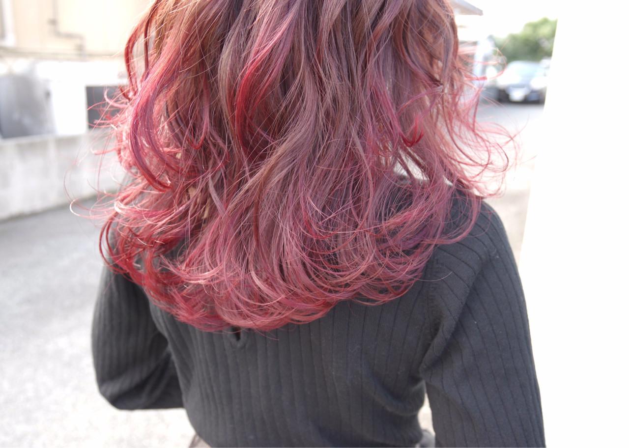 ベースの髪色次第で仕上がりは十人十色 鳥越 ありさ  hair…nail TLABeS