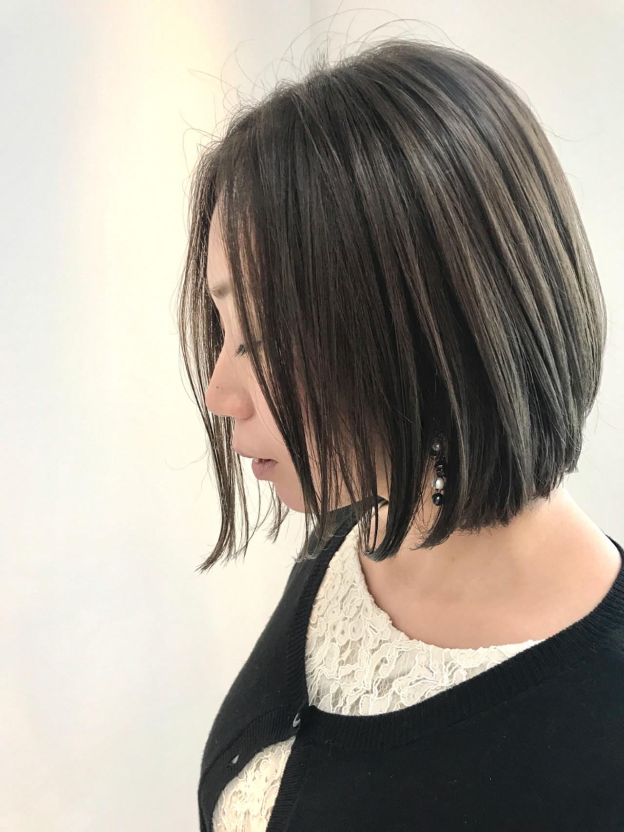 グロッシーな濡れ髪ショートも捨てられない! Tomotaka Hamaya | STILL un label