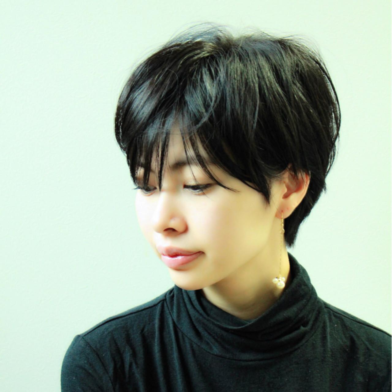 マニッシュな魅力のショート Mayumi Masumitsu | Arrange