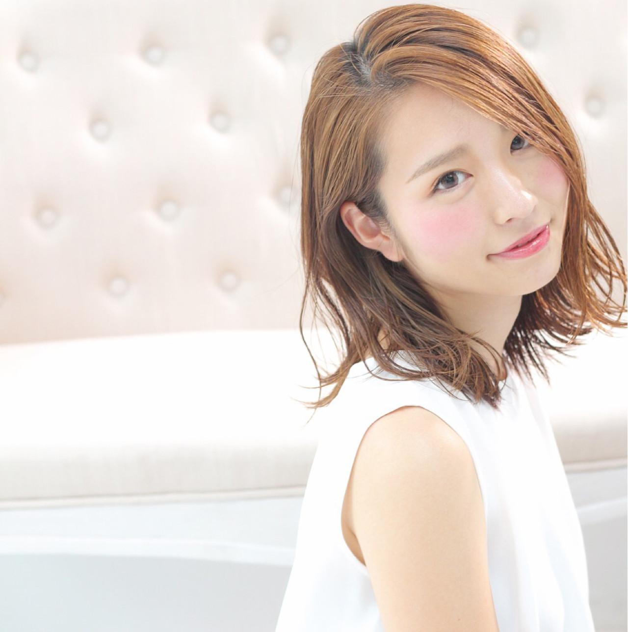 明るめカラーでフレッシュな色っぽさを演出 Wataru Maeda