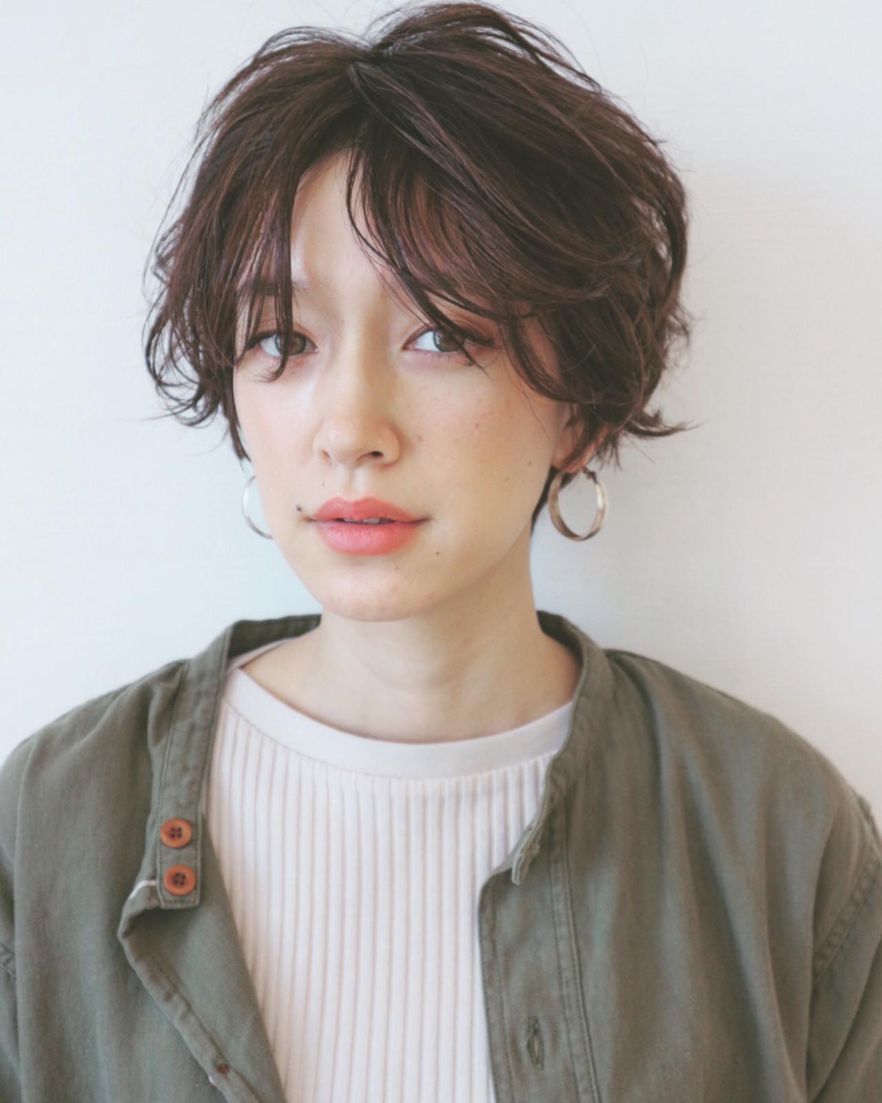 ブルージュ×束感ショートは春カラーの髪にぴったり♪ 三好 佳奈美 | Baco.(バコ)