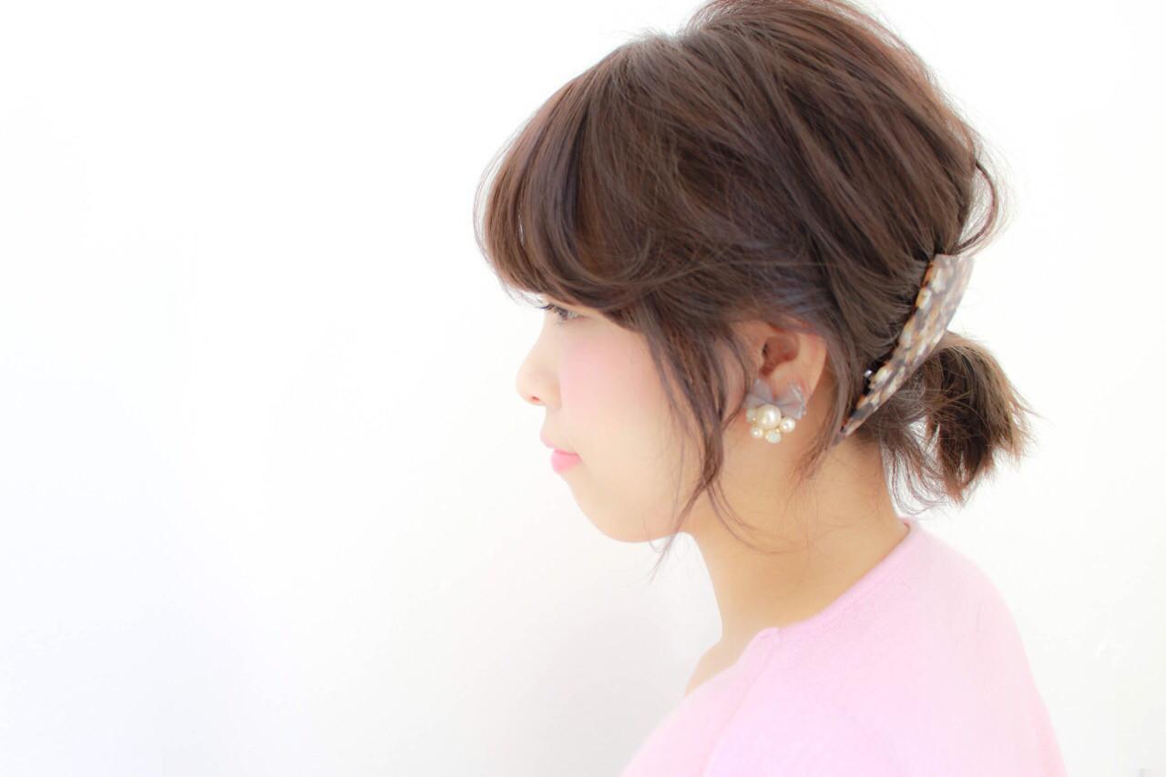 短くてかわいい♪ショートポニーテール hiroki | hair latelier emma