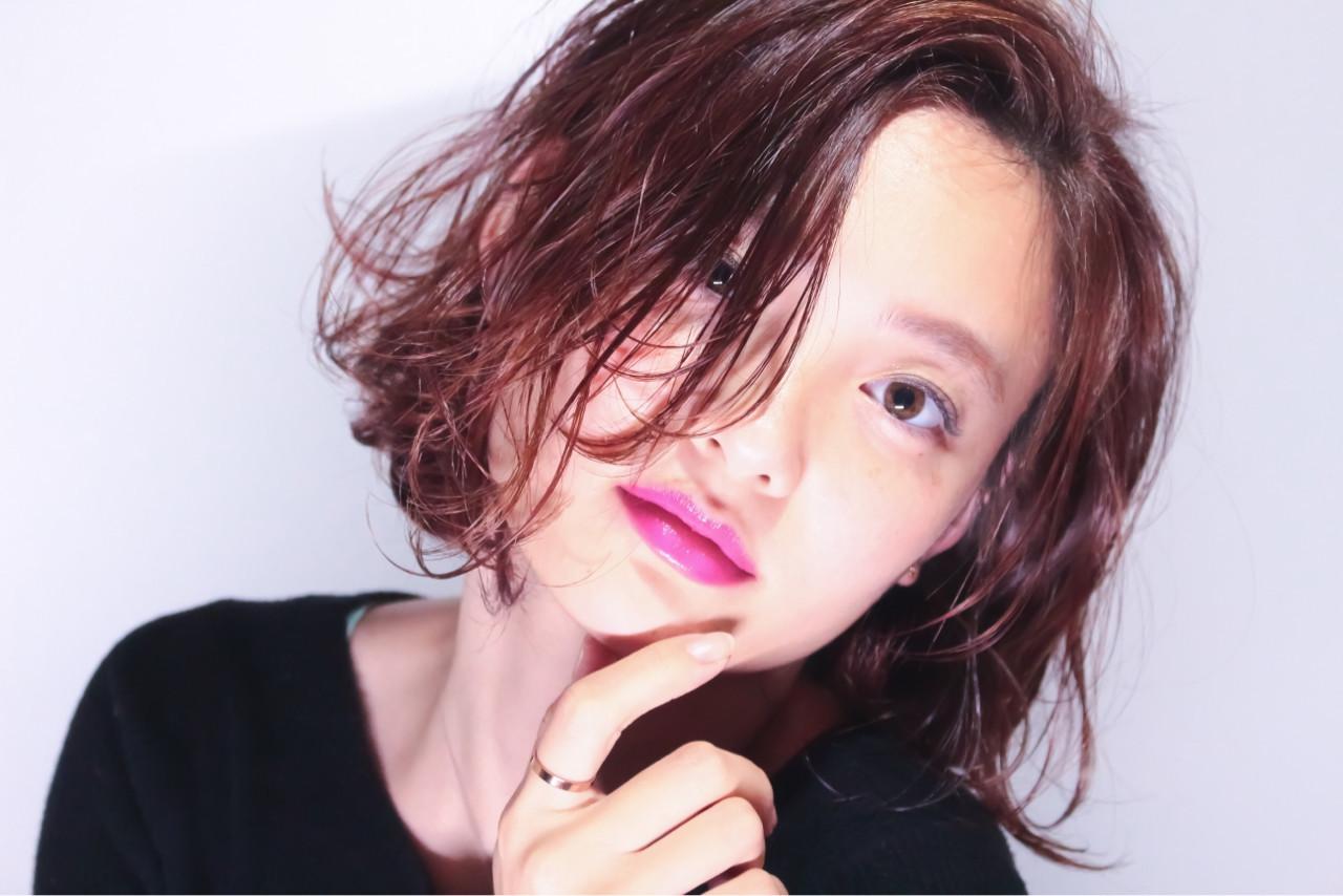 ウェーブ巻きは3ステップで簡単にセット♡ Haruki Shigematsu | Hair Make Decore