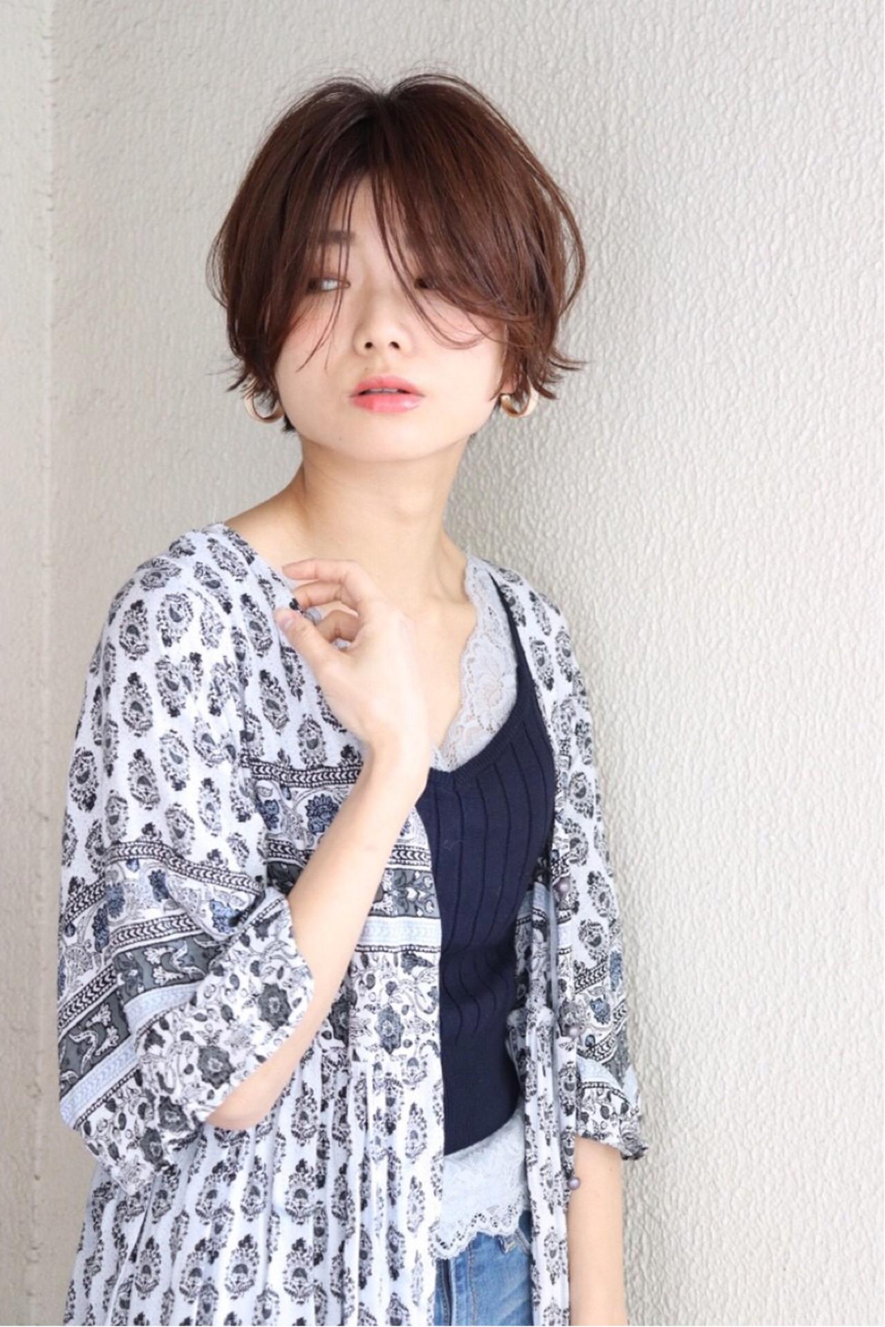 ショートヘアでつくるベース型カバースタイル Mari