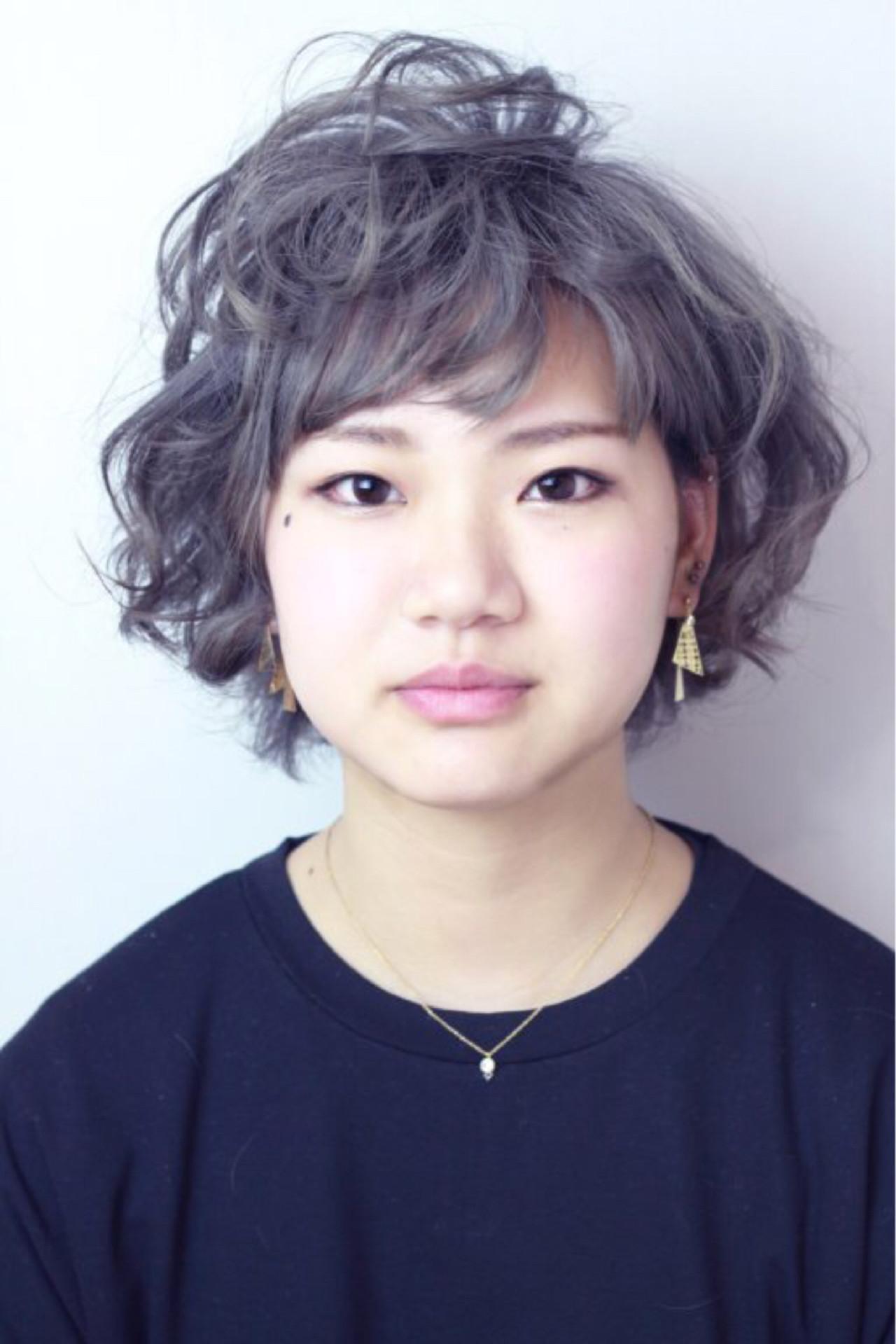 しっかりカールは外国人風ボーイッシュヘアに♡ KUNI | Ash町田