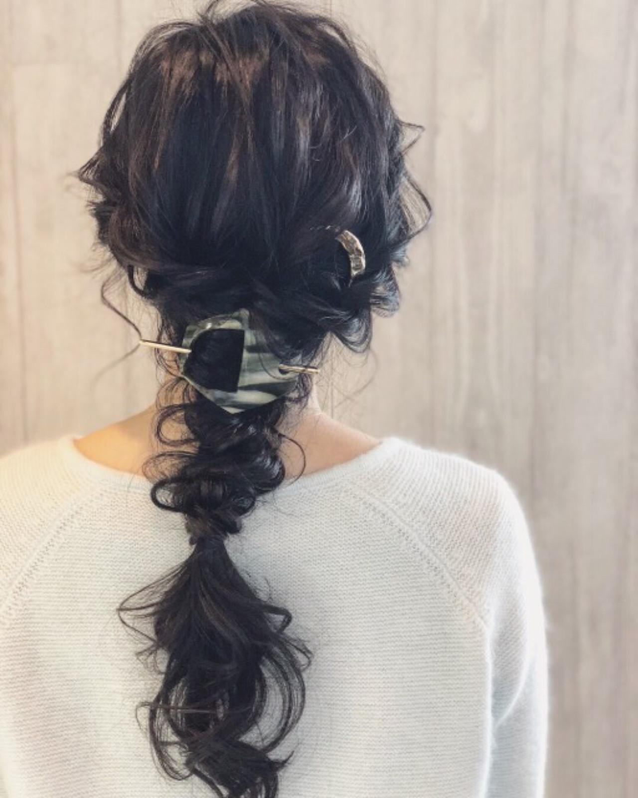 ロープ編みと三つ編みでふんわり編みおろし 宮田 恵里香 | igloo