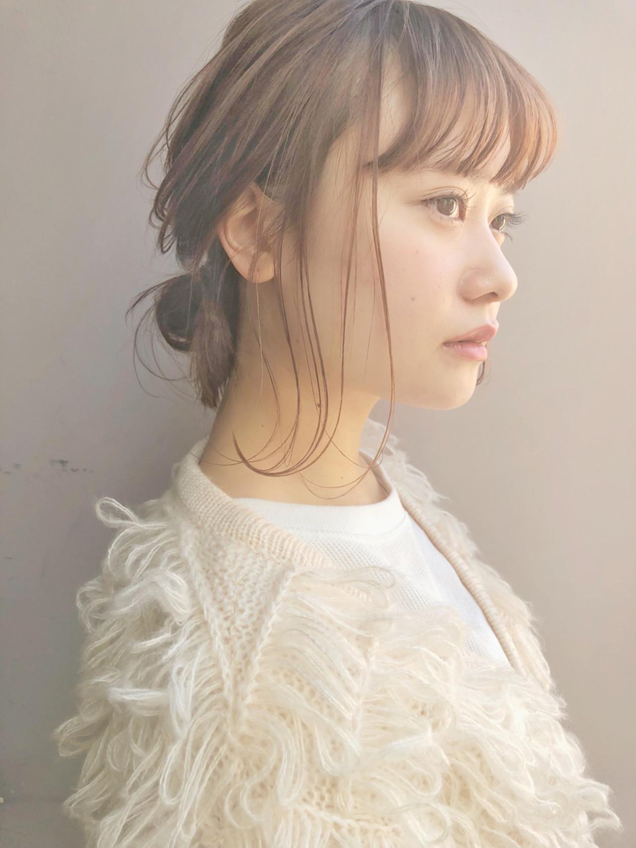 前髪ありで可愛さプラス♡フェミシニヨン drive for garden 森 紫織 | drive for garden