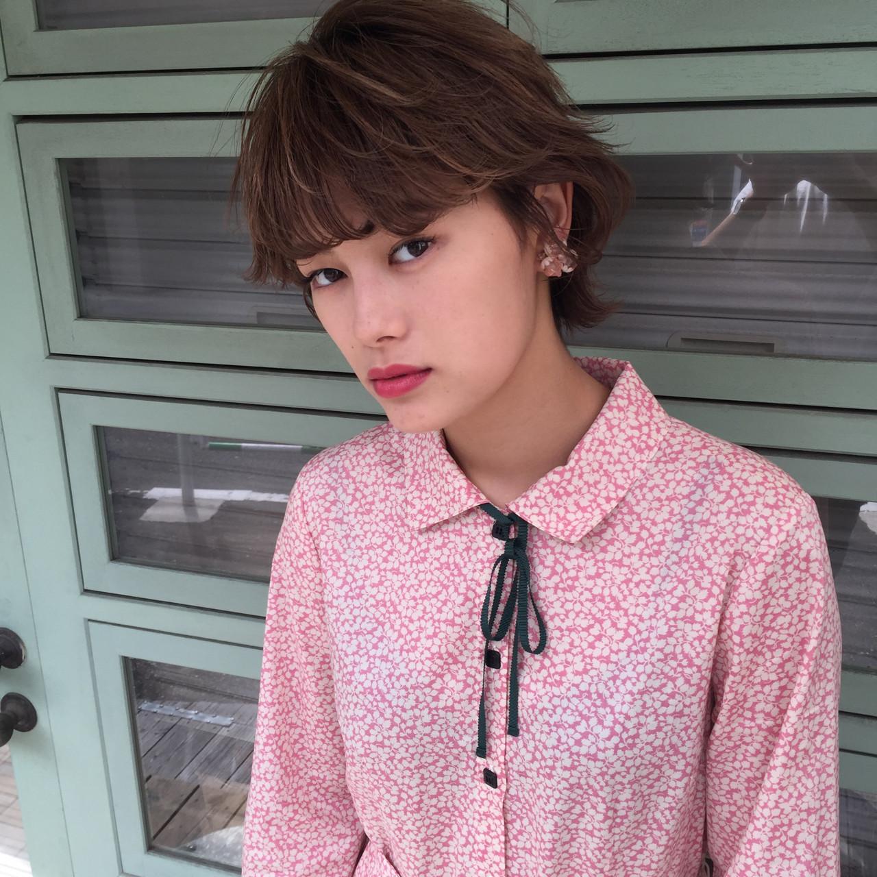 フェミニンなショートヘアスタイル 小西敬二郎 | Heartim