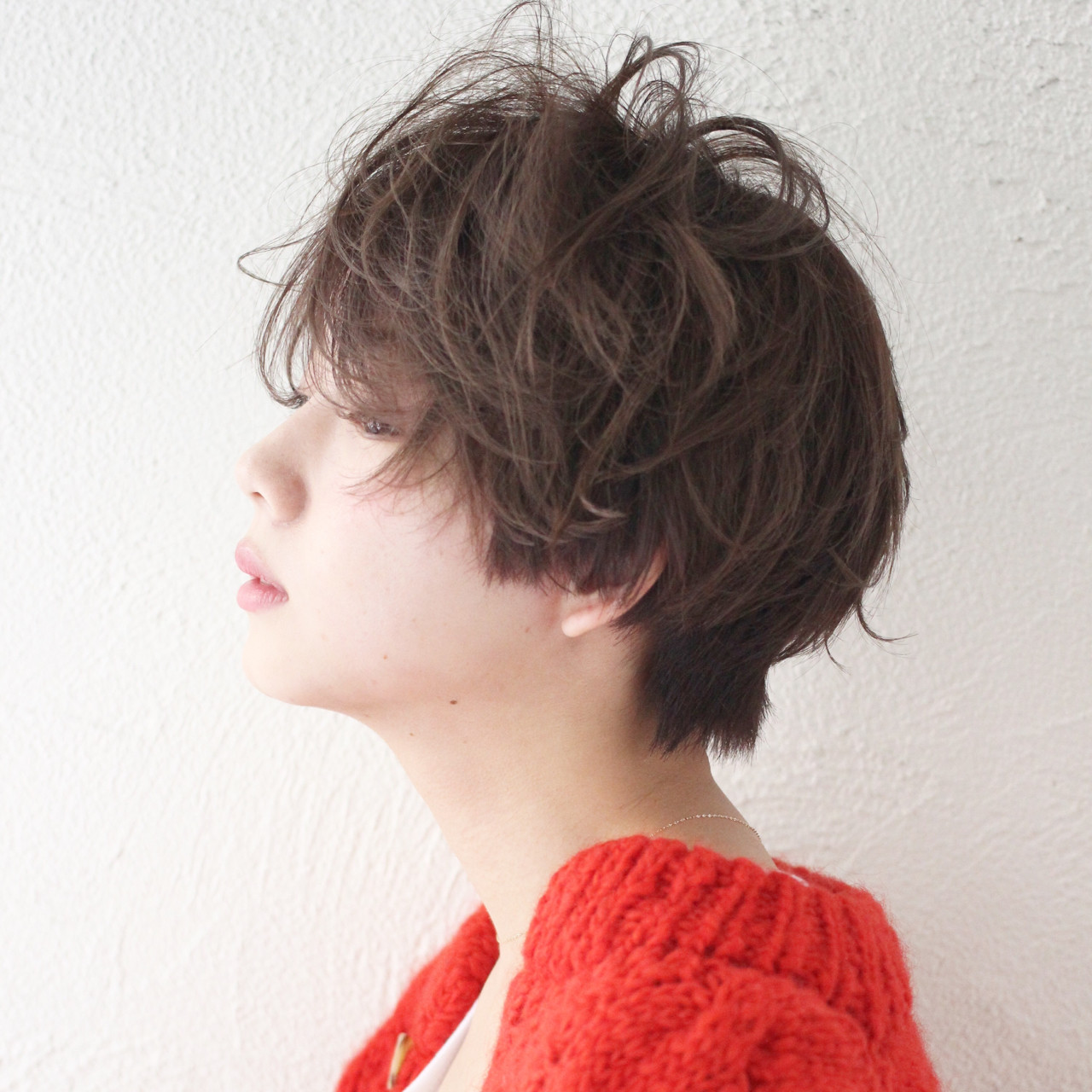 ショートヘア×ふんわりパーマでアンニュイな印象に! 増永 剛大/Un ami | Un ami omotesando