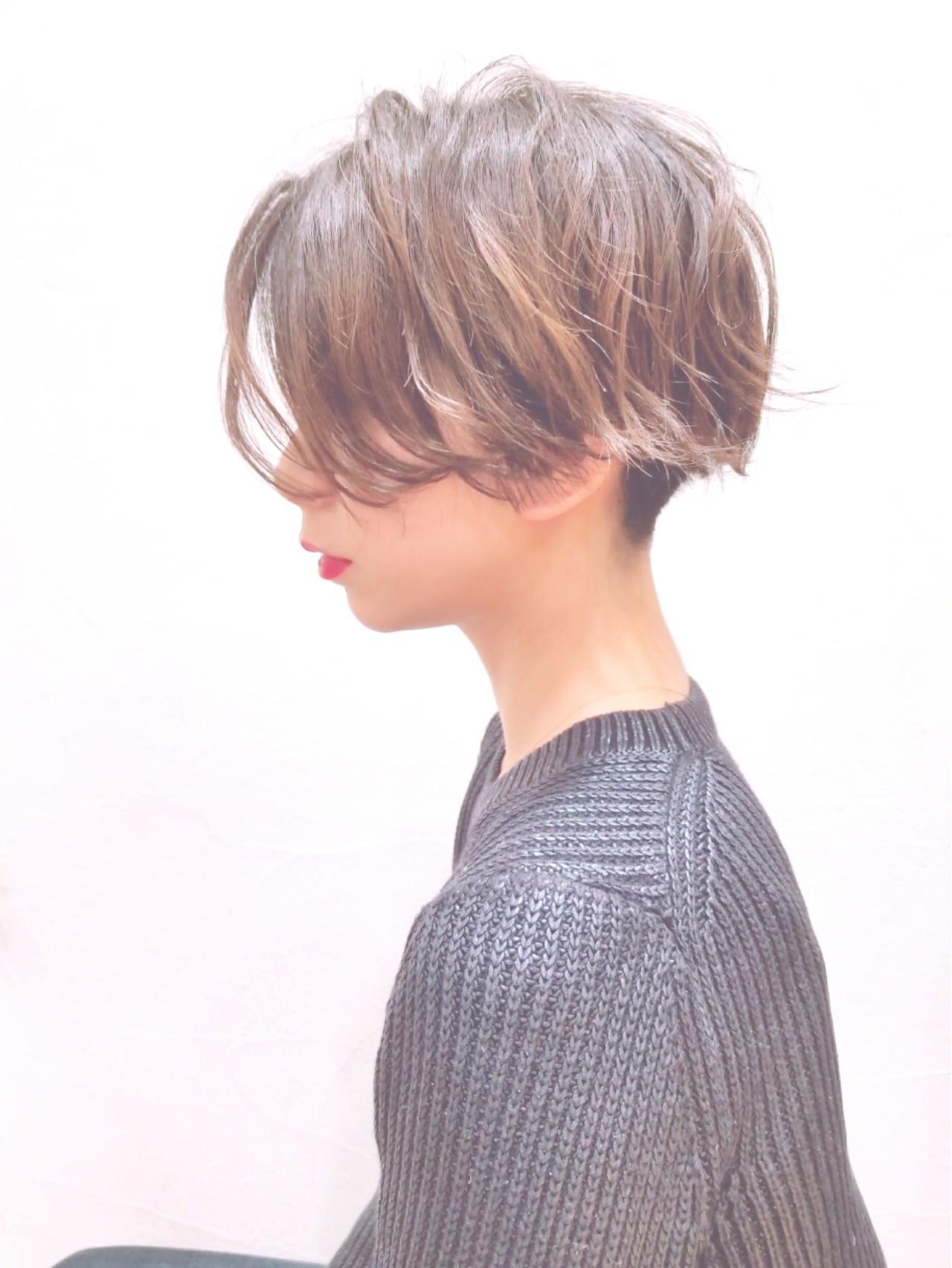 モードっぽさ抜群!襟足刈り上げショート 川田 義人 …GREEK hairdesign | GREEK hairdesign【グリーク】