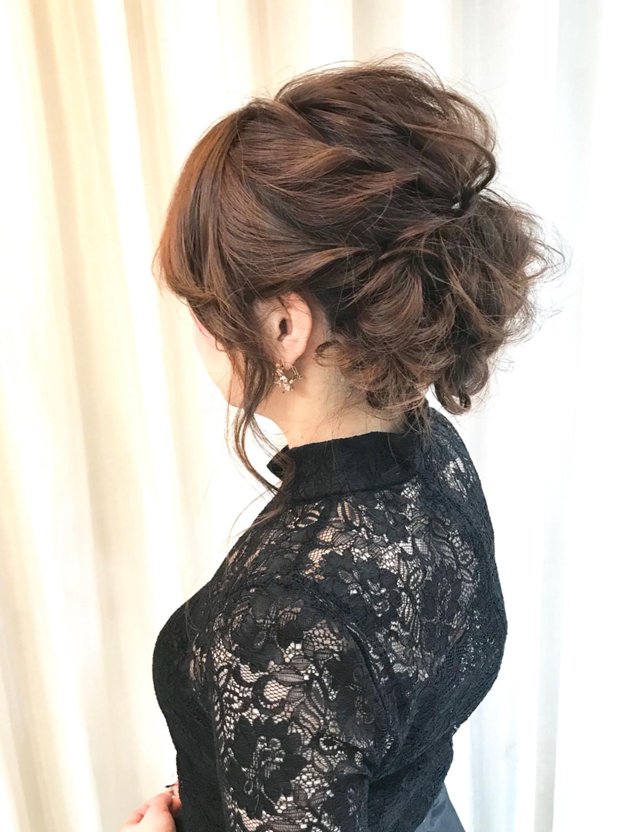 華やかさなら編み込みヘアセットで演出 内田 一也 | hair/nail space a:le