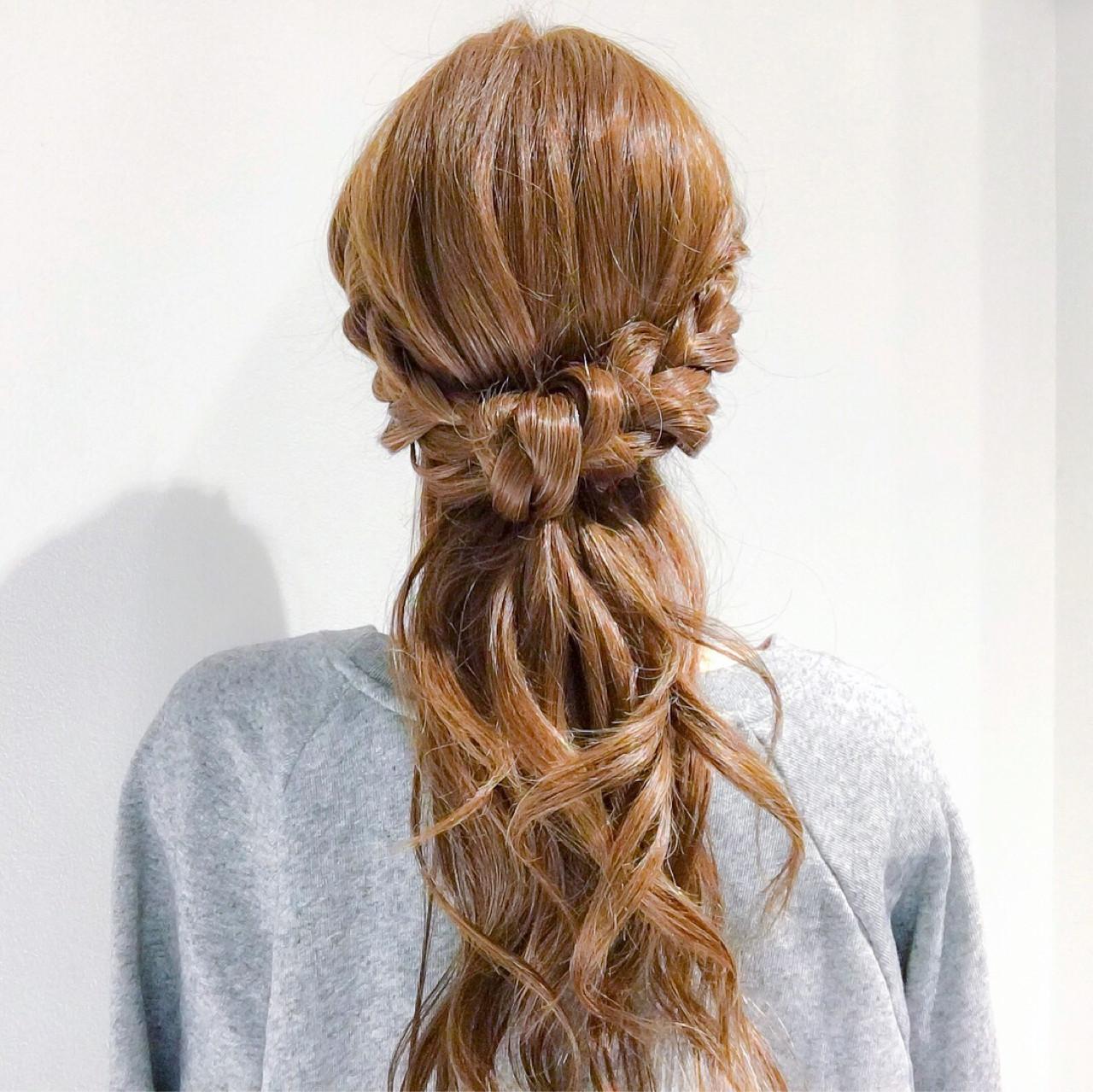 サイド三つ編みでまるで上級テク♡ヘアゴムアレンジ 美容師 HIRO | Amoute/アムティ