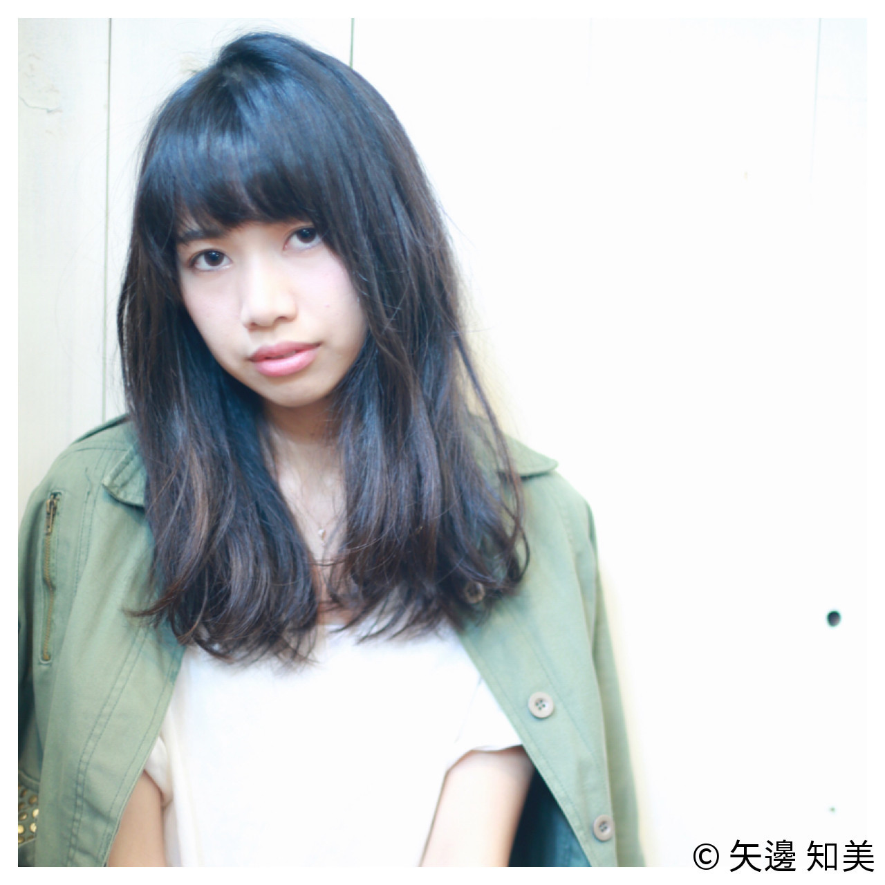 黒髪でも重くない♡ナチュラルセミロング 矢邊 知美/THE SEA Hair&Life