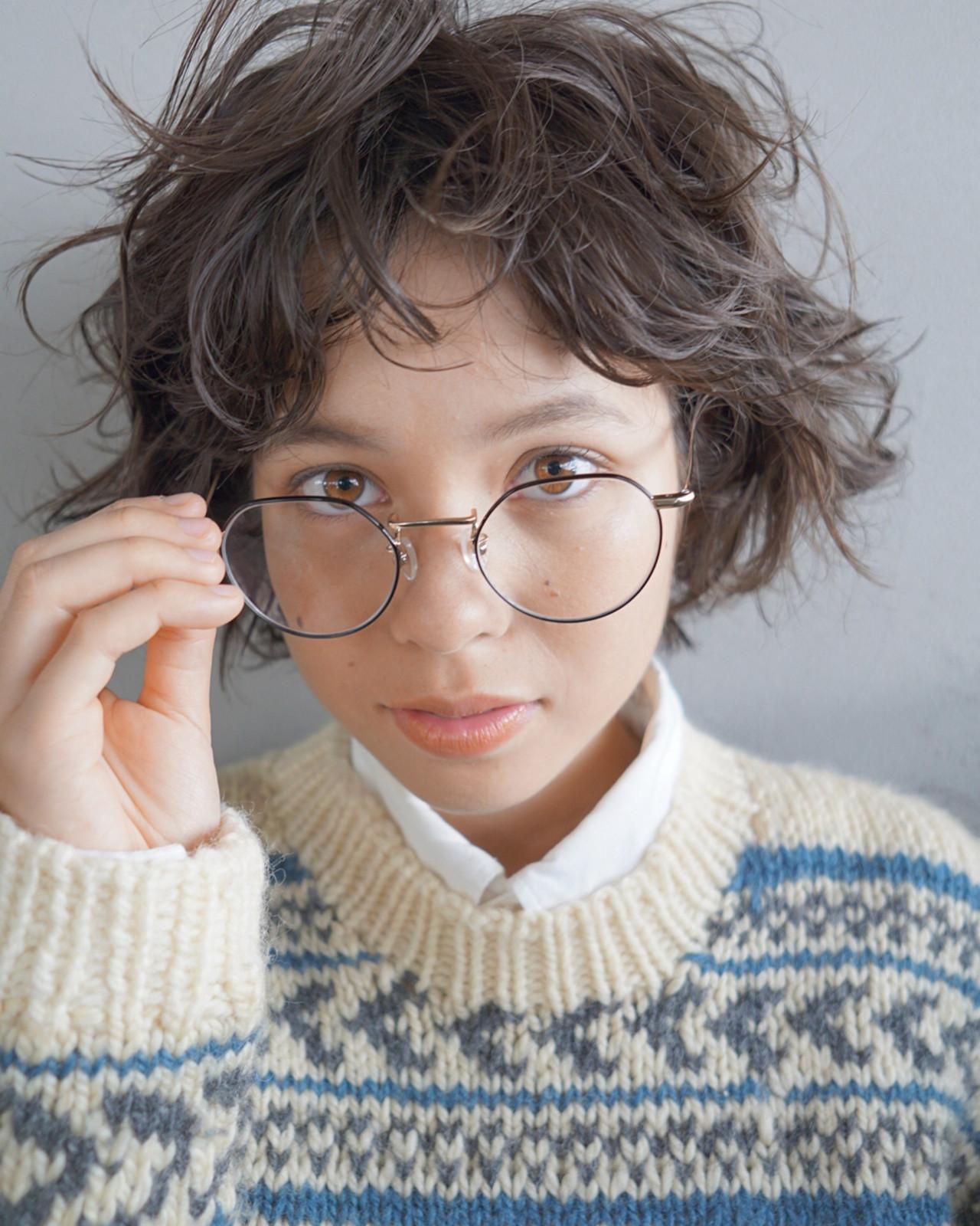外国の少年風♡くせ毛を生かしたふわふわショート UEKI/nanuk
