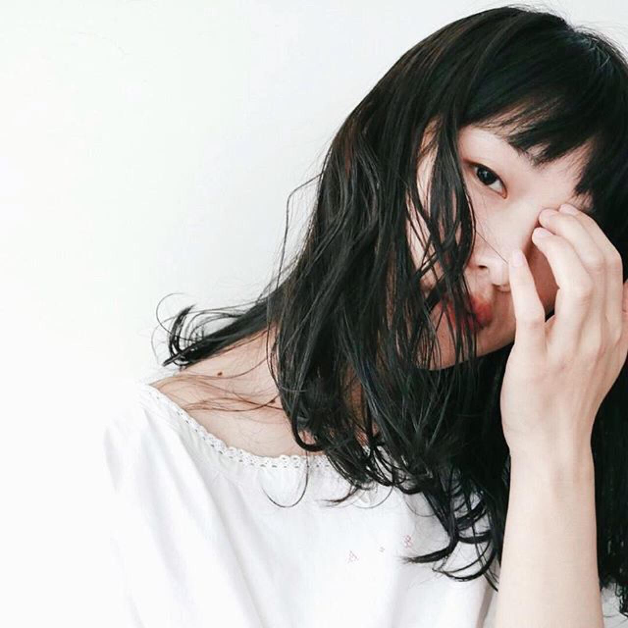 アンニュイウェーブ♡の黒髪セミロング 丸山悟