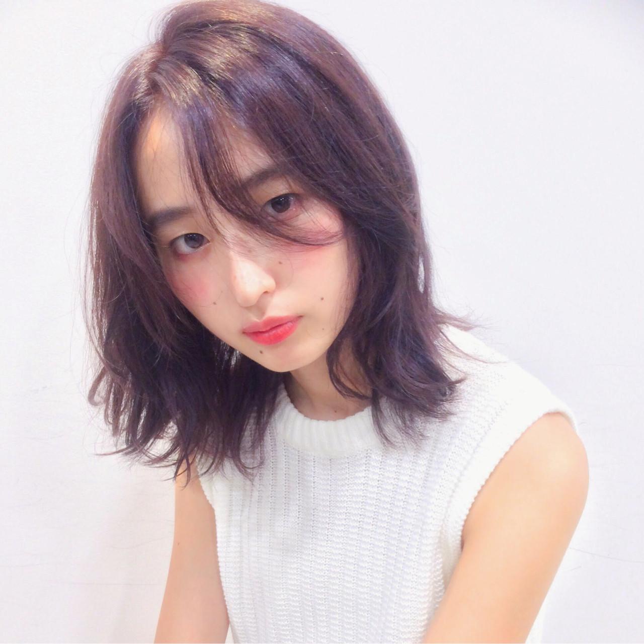 アッシュのピンクブラウンヘア GARDEN harajyuku 細田 | GARDEN harajyuku