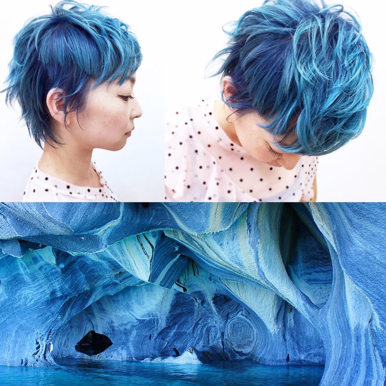 目が覚めるような鮮やかブルーが印象的!! YSO