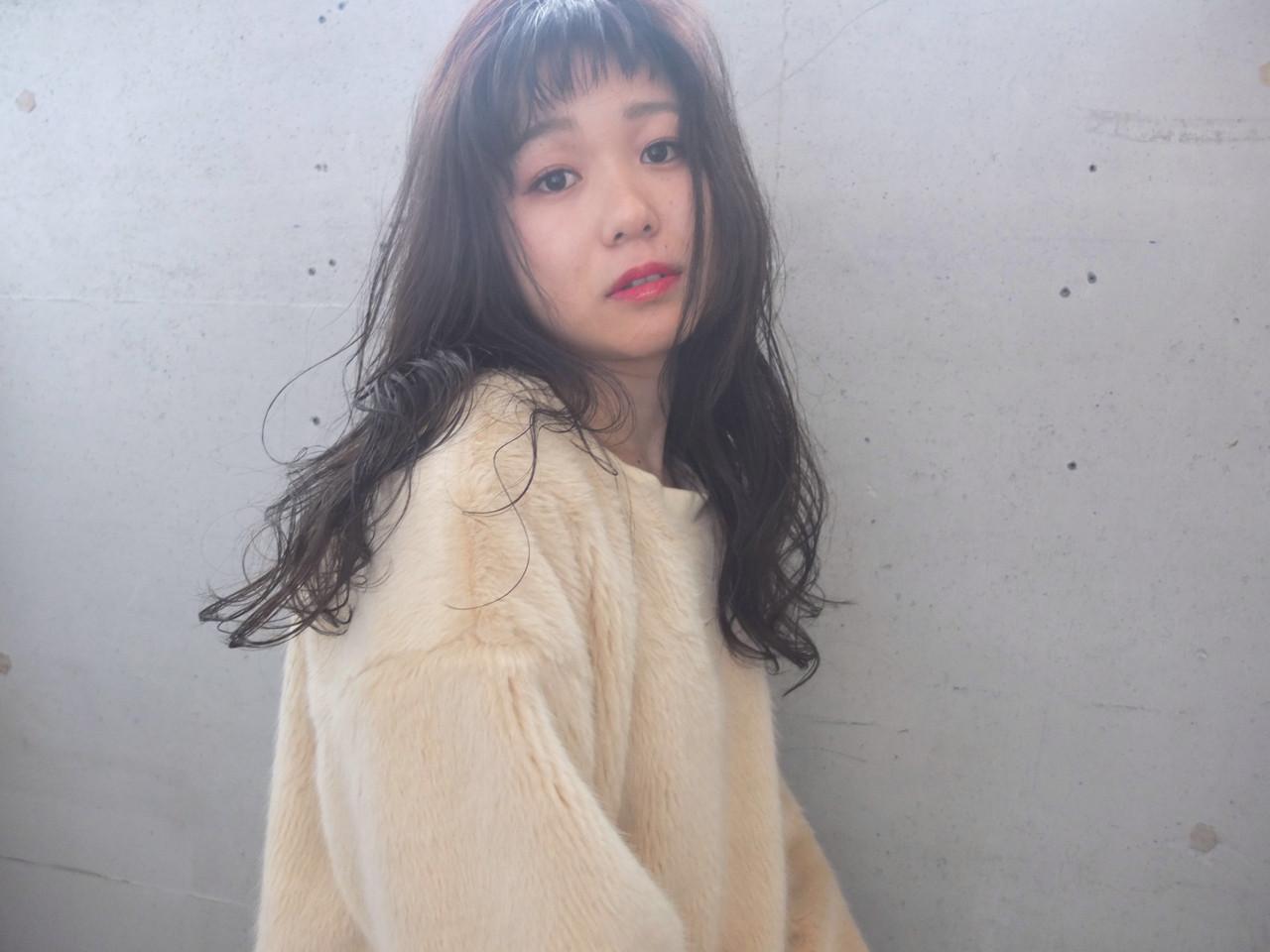 デジタルパーマでつくる女っぽロング 金子 奈那美