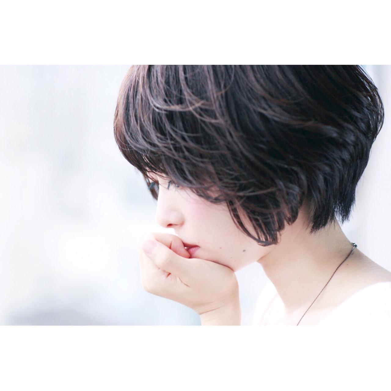 大人かわいい前髪アシメスタイル 吉川 知志