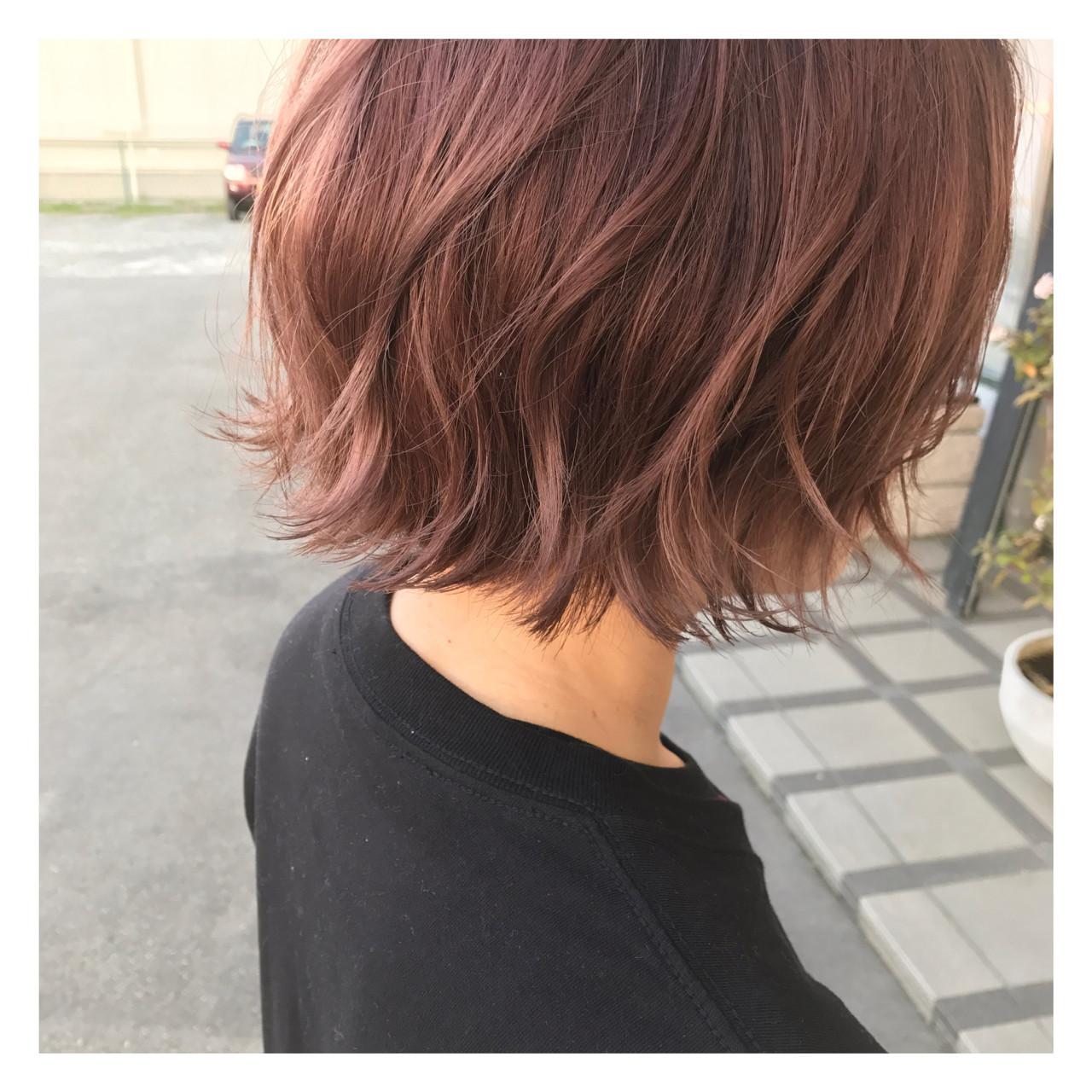 ピンクアッシュでキュートな愛され髪に 長谷川 聖太
