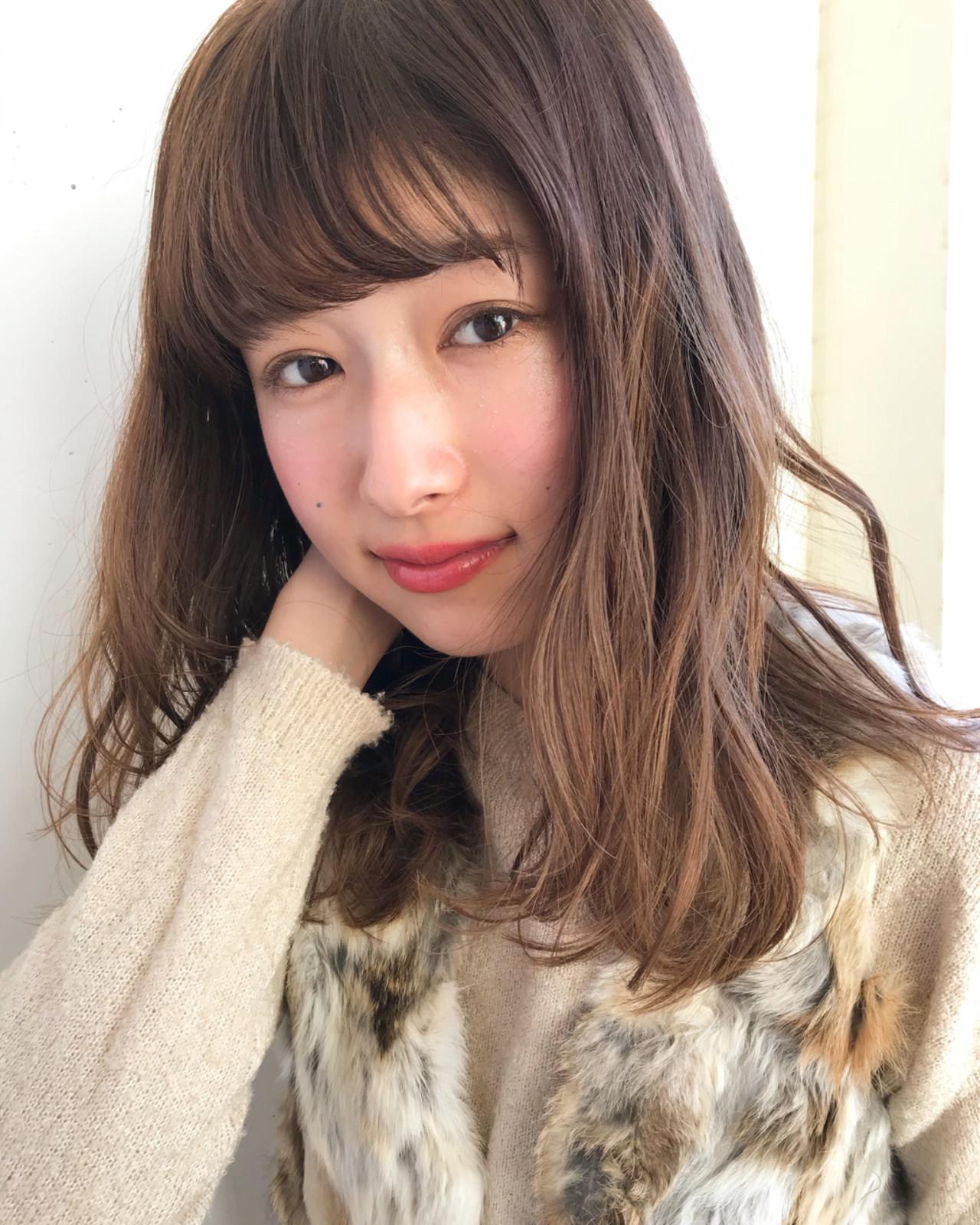 ゆるふわパーマとカラーで柔らか質感ヘアに♪ 伊藤愛子 GARDEN