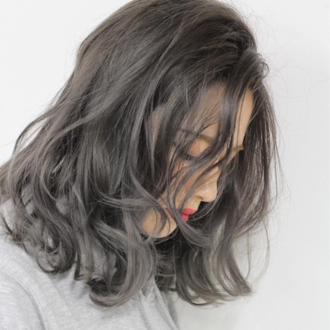美しい髪に見える!暗めグレージュ 仲澤 武 tornado | tornado  トルネード