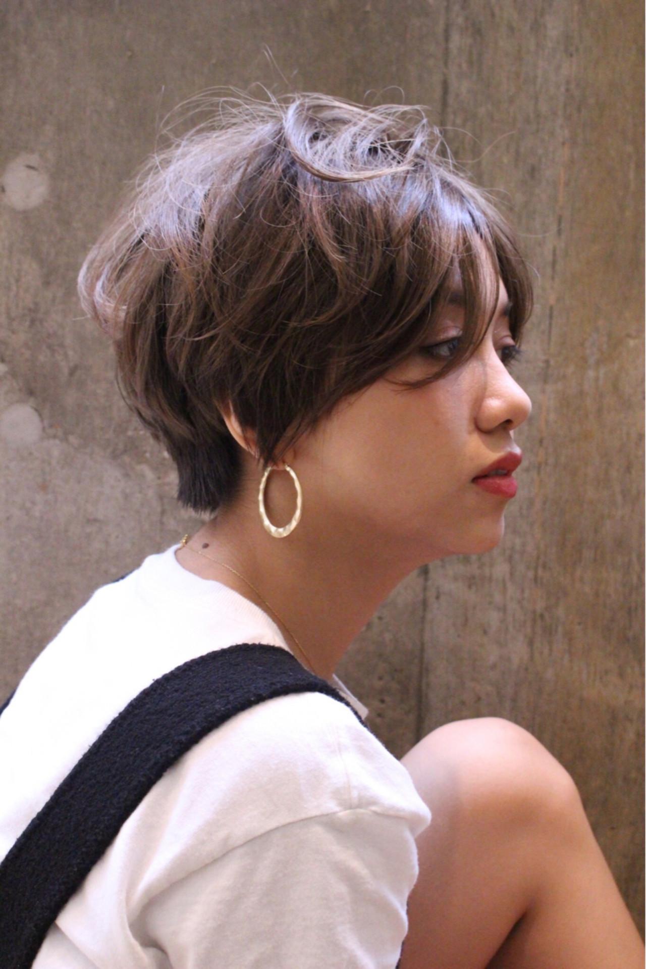 やわらか質感のショートヘアのアレンジ 池田 涼平