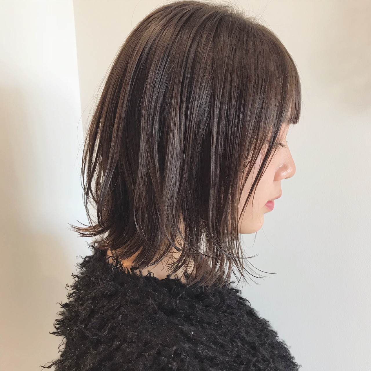 黒髪なら、さらに清楚な女性のイメージに♡ 佐々木拓巳