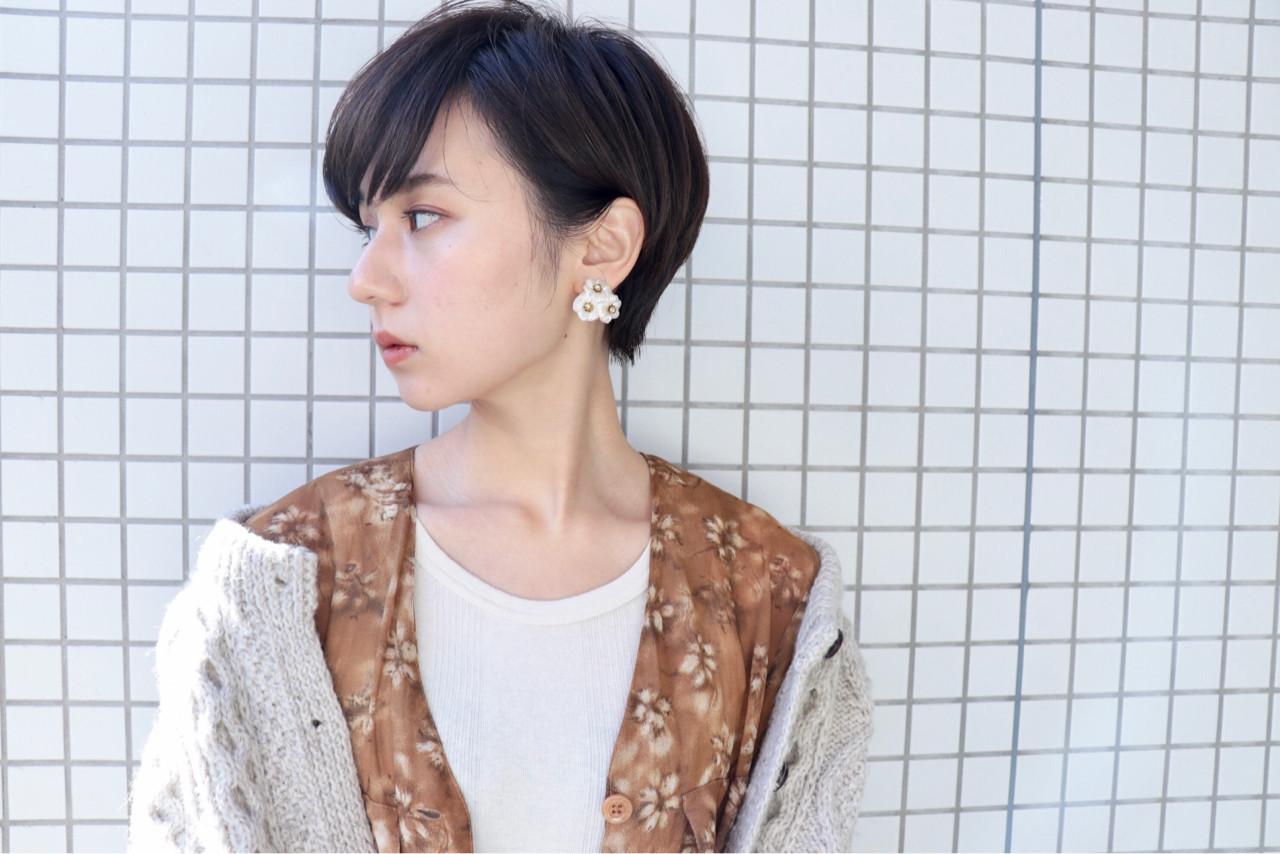 波留さんっぽいすっきりして品のある耳かけショート 井野 米子