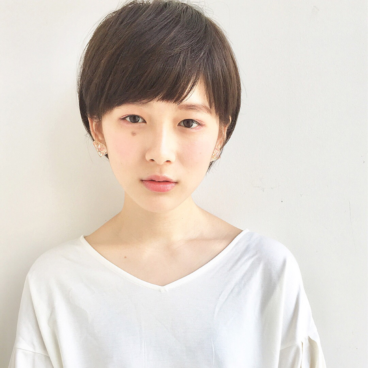 広末涼子さんっぽい透明感のあるマッシュルームカット ショートボブの匠【 山内大成 】GARDEN