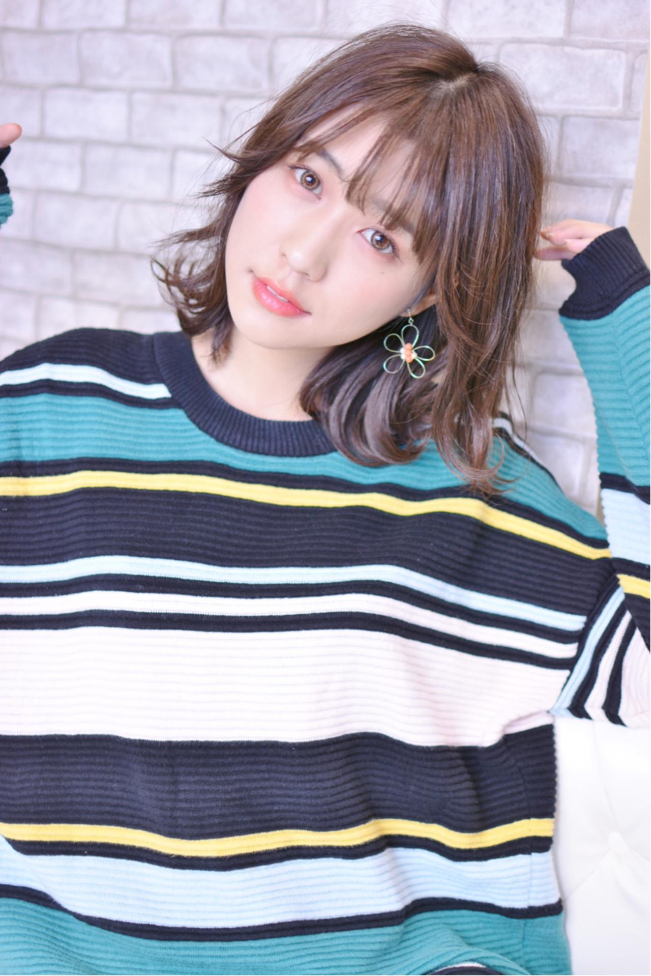 前髪の長さを変えなくてもイメチェンできる♡ Shiko Kajihara | メイズ