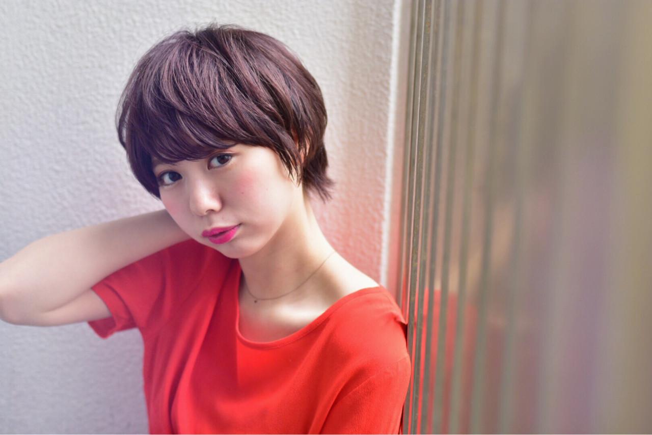 ポップでかわいいマッシュショート カワノナオト【福岡美容師】 | kchiara