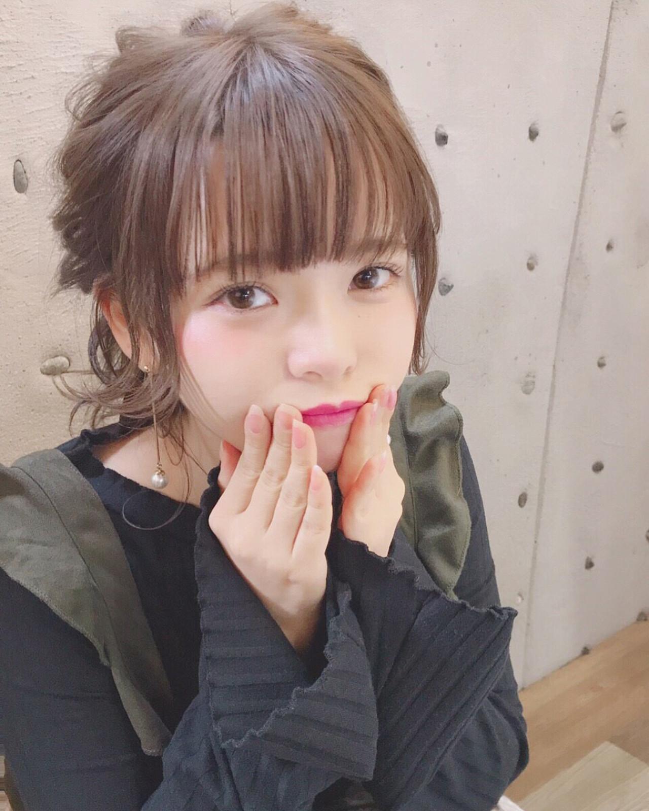 ポニーテールの横毛の切り方について Wataru Maeda | cache cache