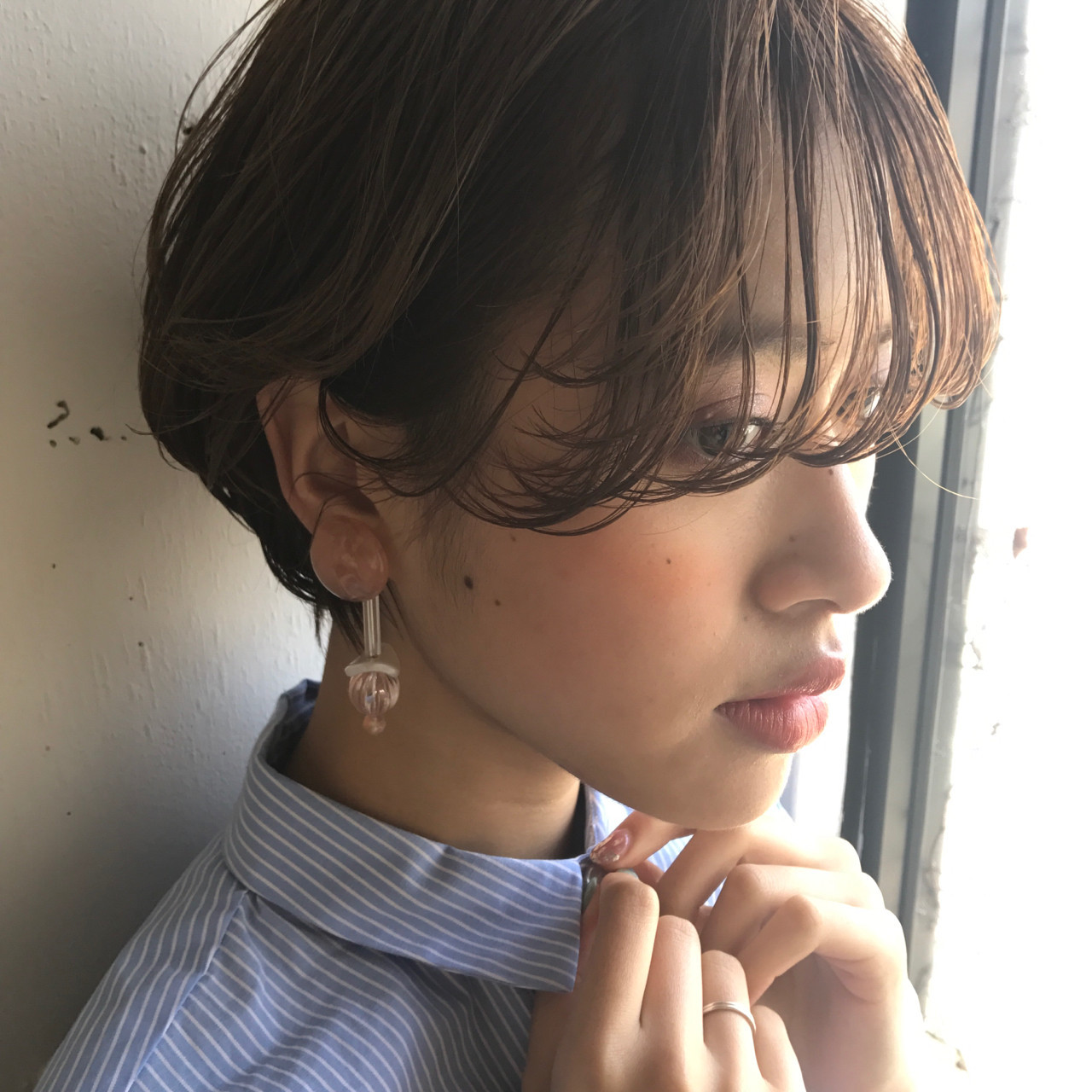 ウェット感プラスでアンニュイシースルー 小西敬二郎 | Heartim