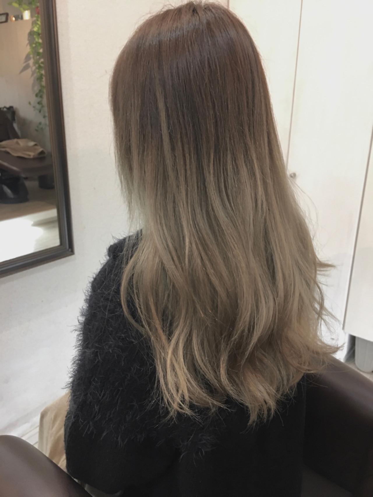 ロングヘアにグラデーションカラーがおすすめのワケ サグチ ユウタ | HAIR LUZ