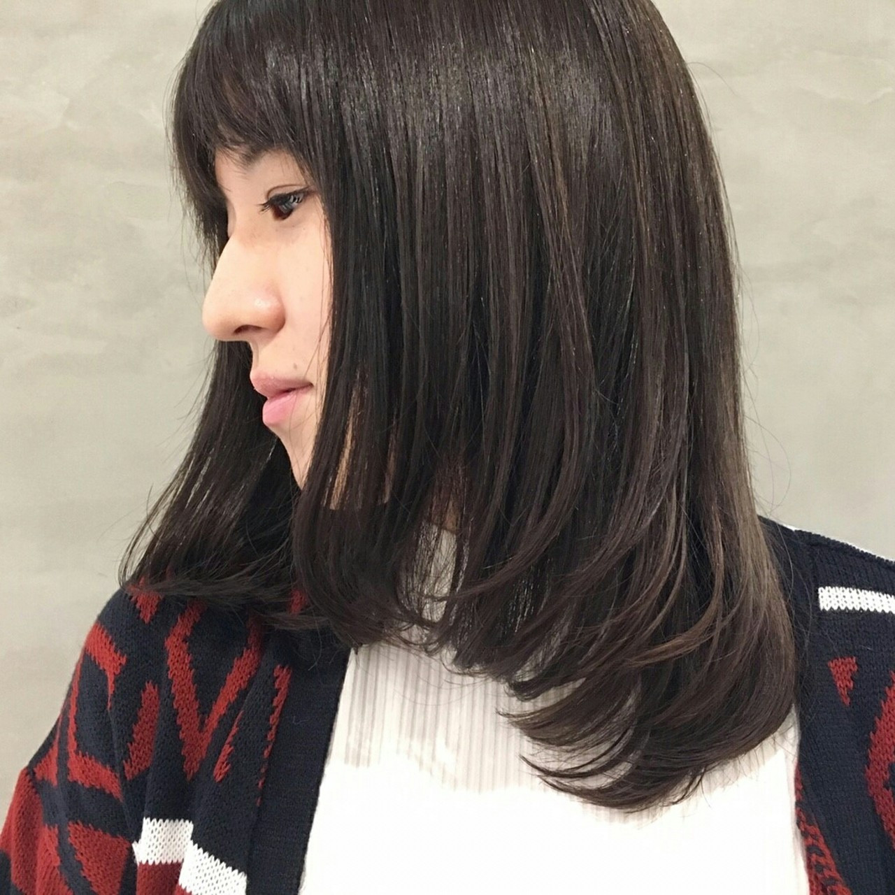 ワンレンミディアムは黒髪が清楚でモテ度高め! 阿藤俊也 | PEEK-A-BOO NEWoMan新宿