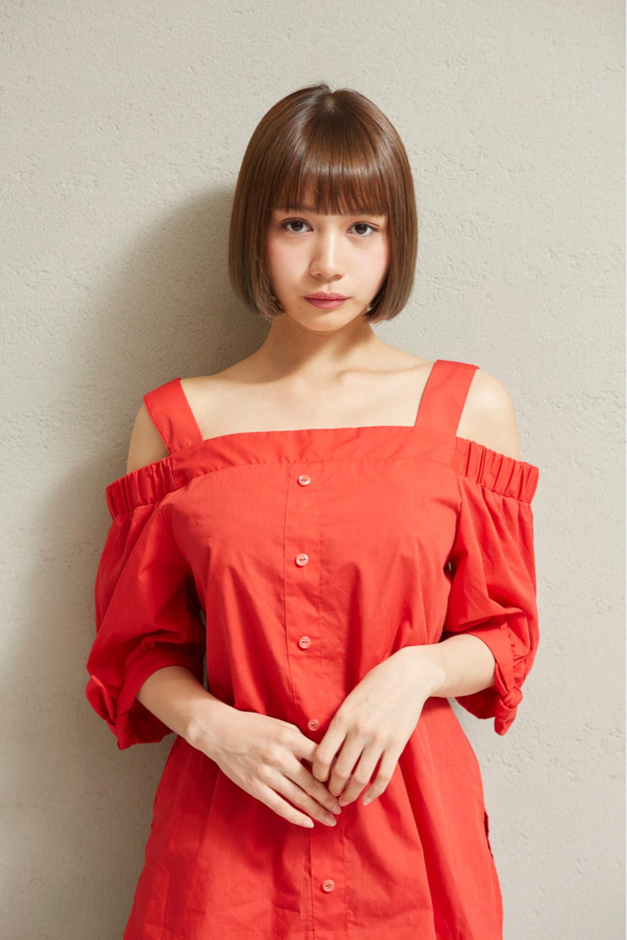 ワンレングスボブの芸能人といえば誰? koki | Michio Nozawa hair salon ginza/Noz銀座店