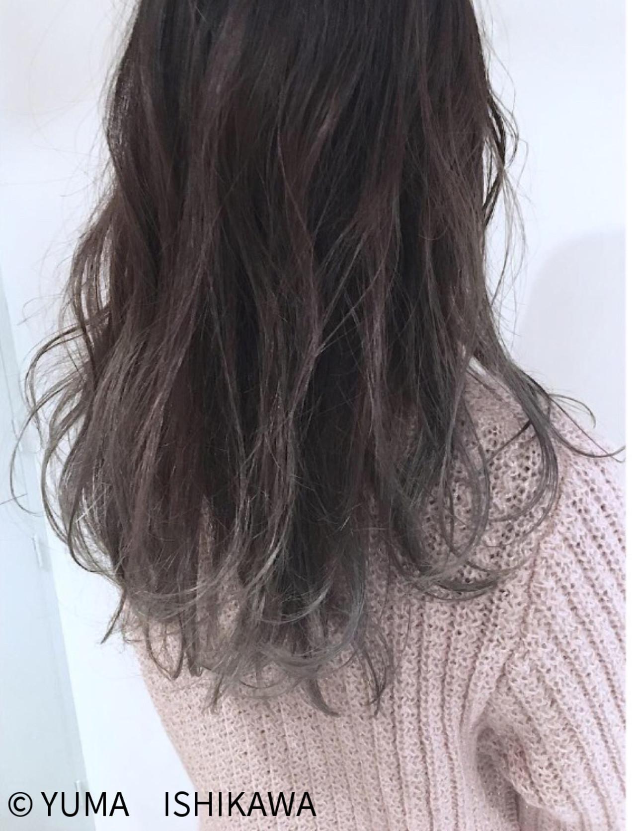 暗めグラデーションカラーの人気色② NORA / YUMA ISHIKAWA | NORA HAIR SALON