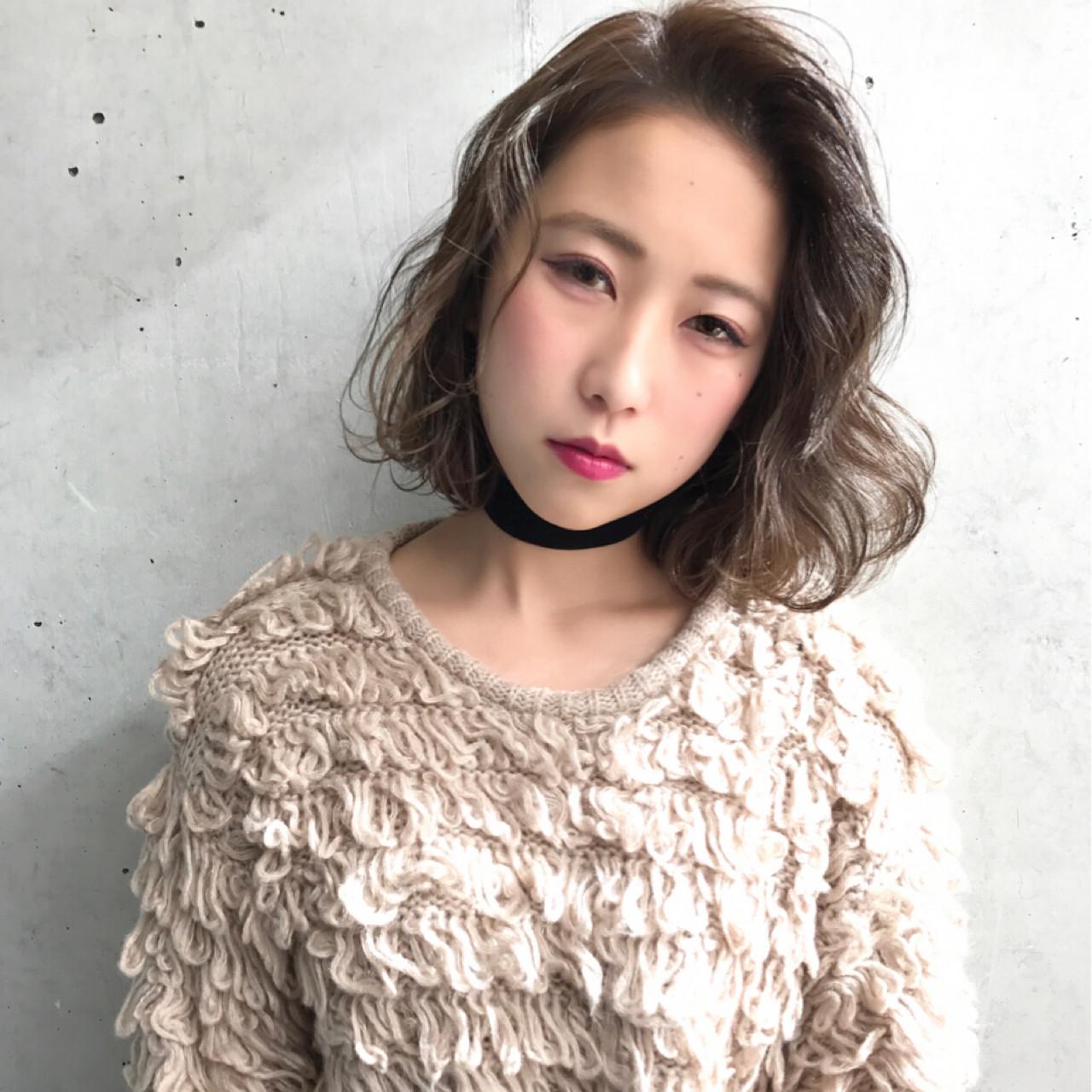 おすすめの外ハネパーマスタイル② Daichi shimazu   hairsalon M 新宿