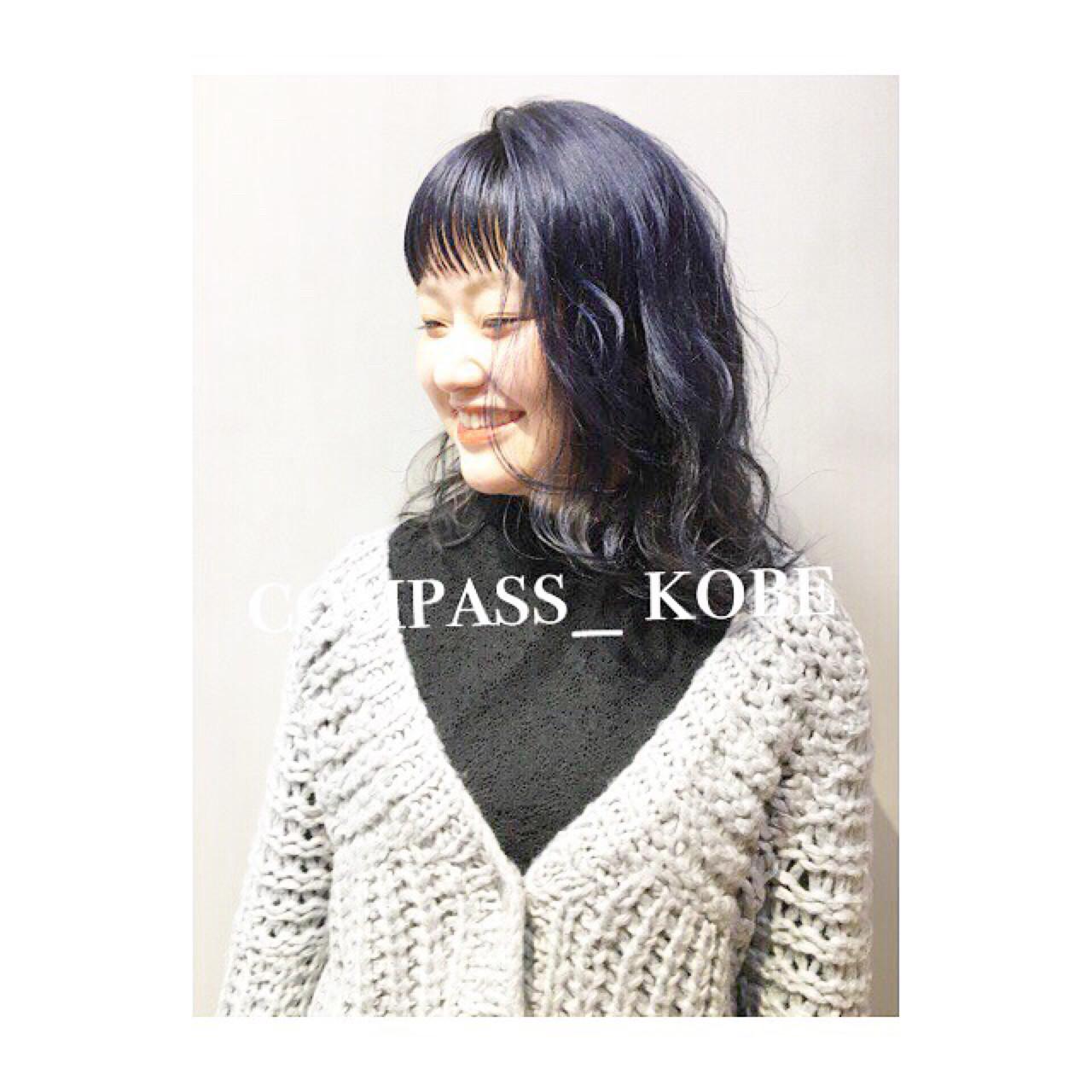 暗めのブルージュなら透明感たっぷり! COM PASS タイチ | COM PASS
