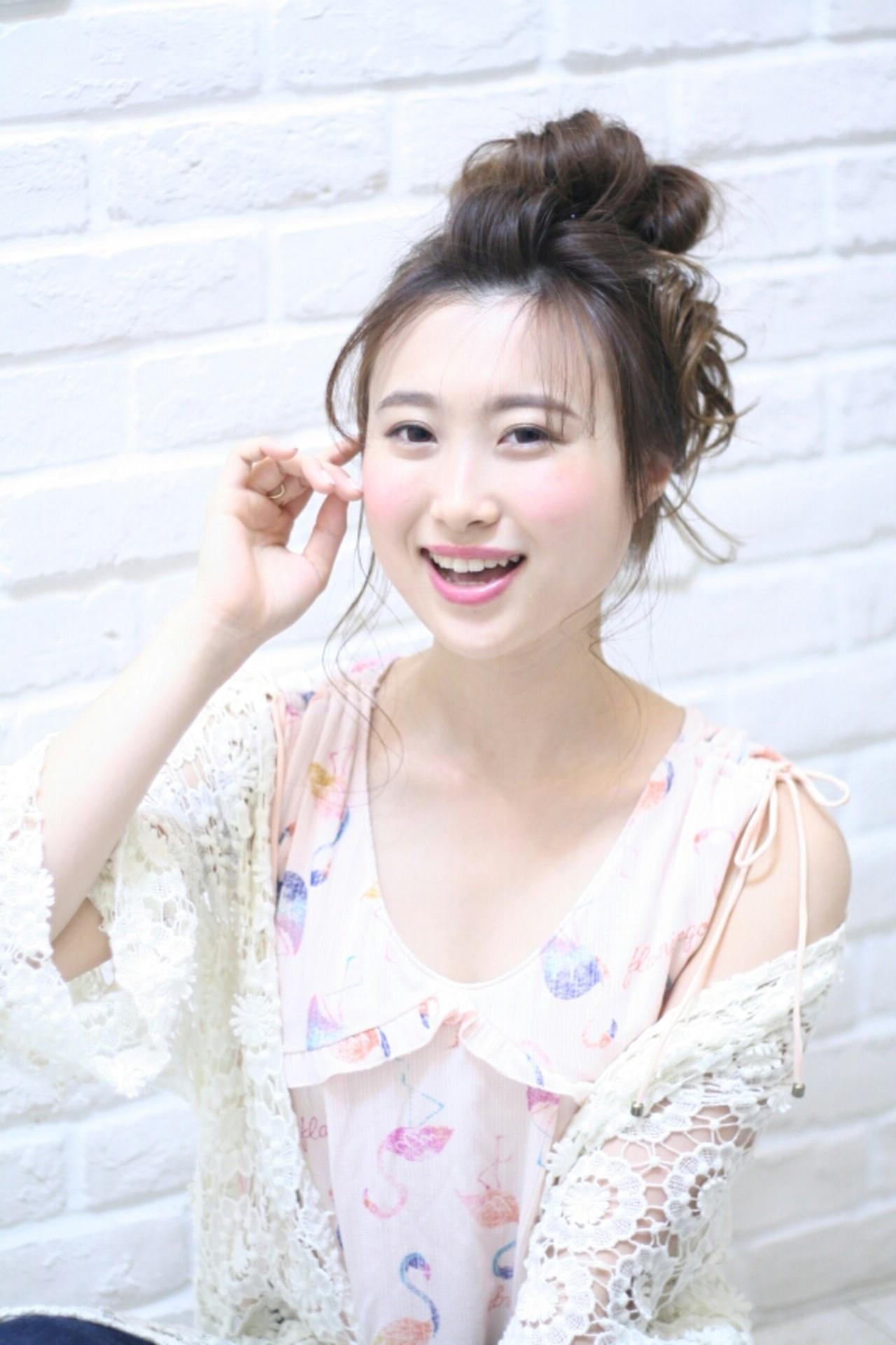 面長さんにもおすすめ!長い前髪のアレンジ Naoko Miura