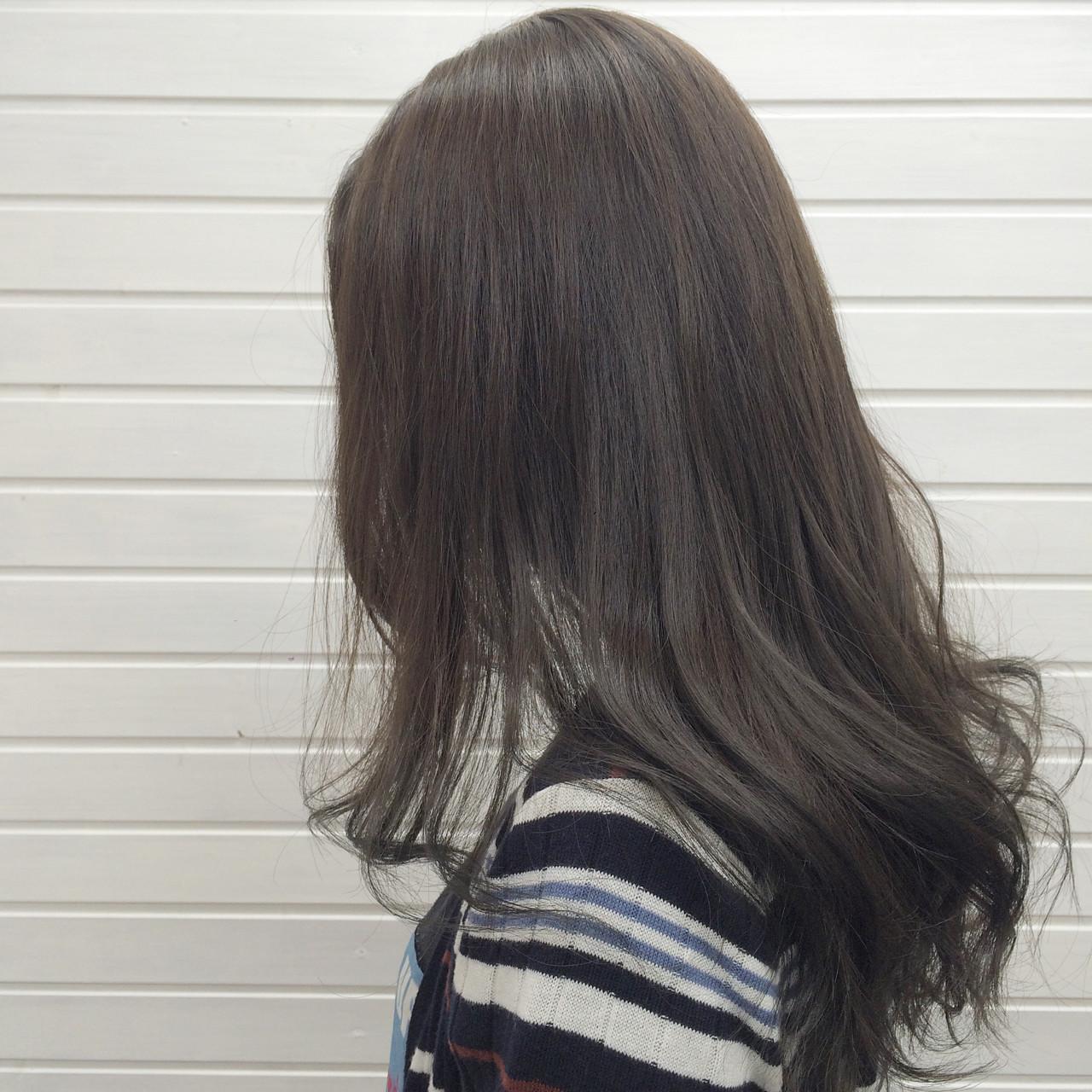 上品に仕上げるのならダークアッシュ♡ universe | hairspaceuniverse