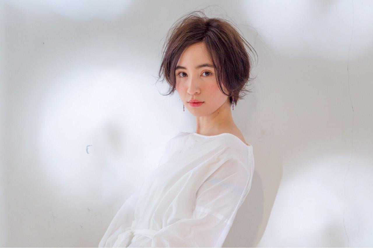 30代・大人のショートボブパーマ 菅沼宏恵