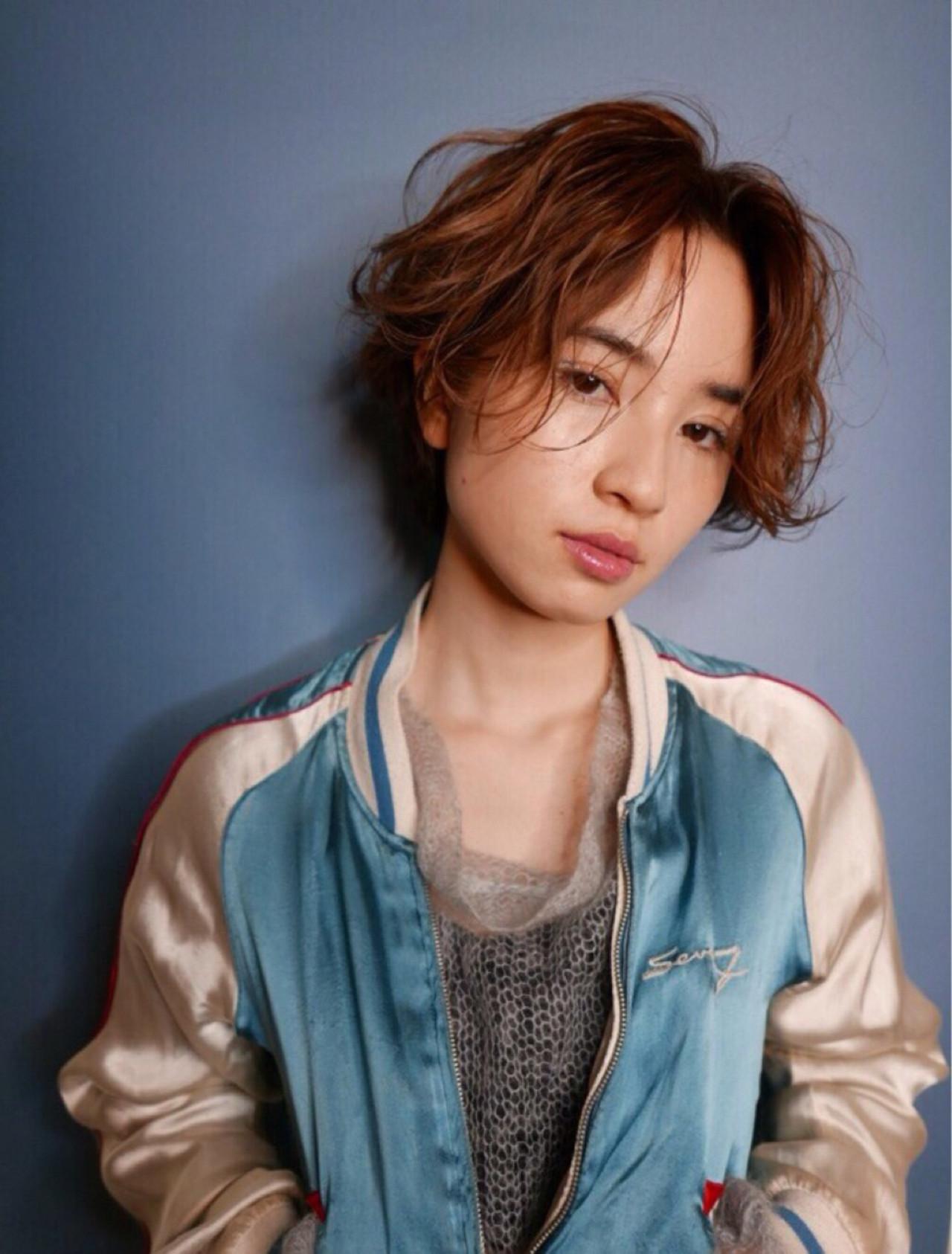20代・外国の少年風ショートでジェンダーレスに 菅沼宏恵