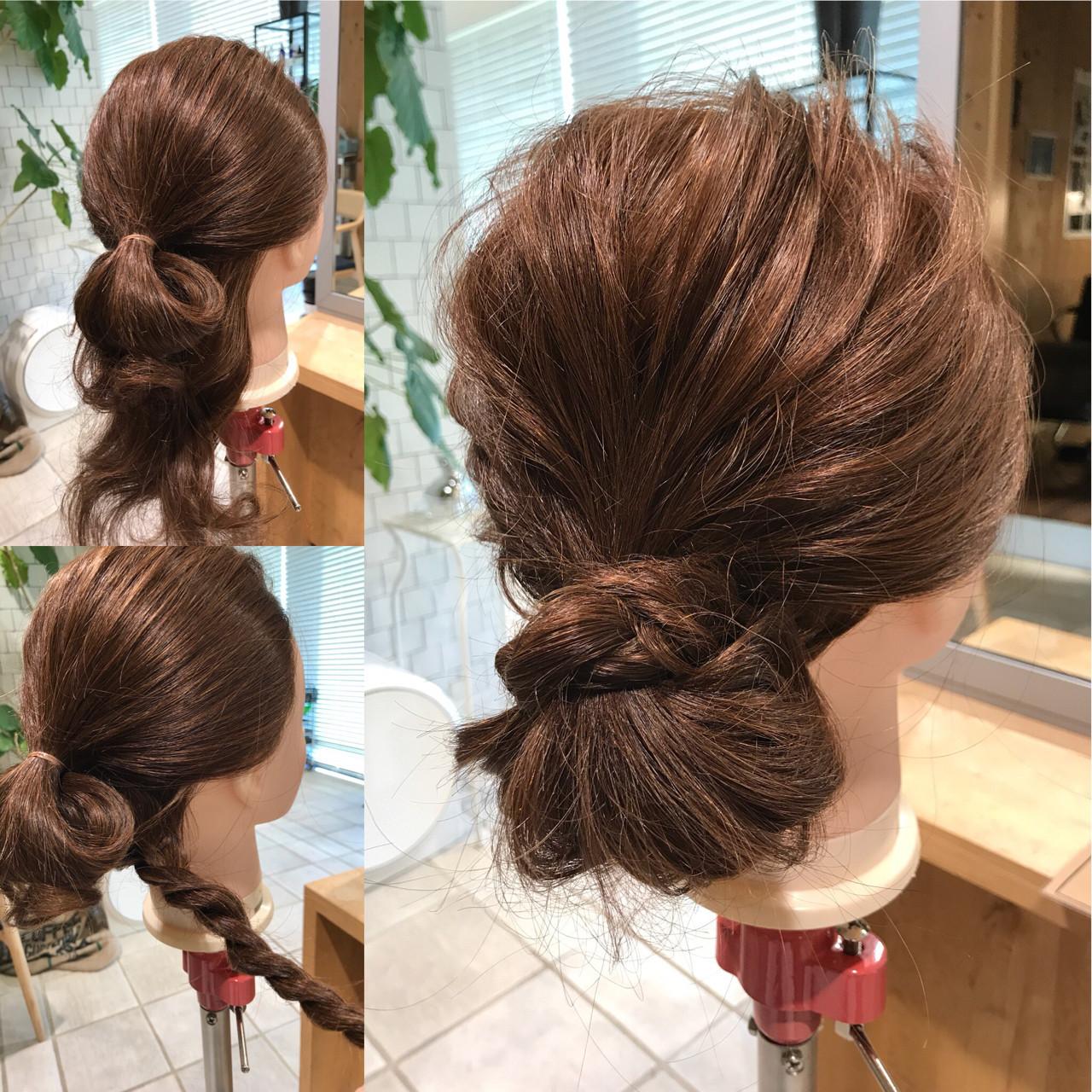 カジュアルにも似合うロングヘアのロープ編み YASU | hair salon M.plus ヨツバコ店 (ヘアーサロン エムプラス)