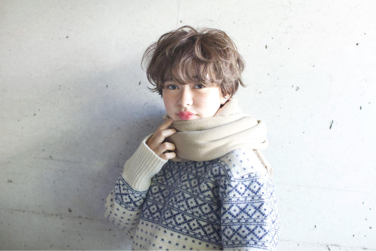 ゆるふわパーマが可愛いショートスタイル 佐脇 正徳 | LOAVE AOYAMA(ローヴ アオヤマ)