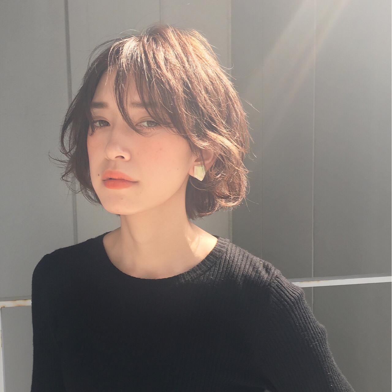 美しいフォルムのショートボブ 三好 佳奈美 | Baco.(バコ)