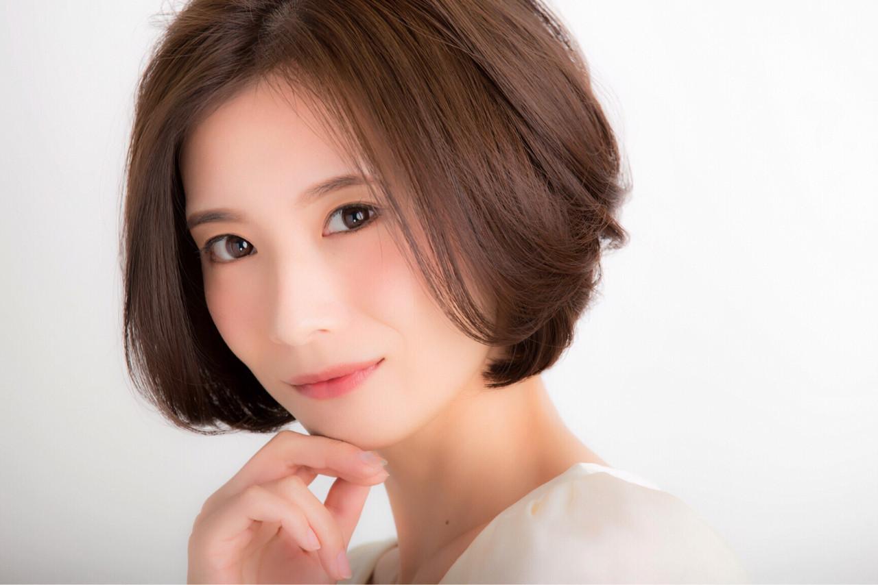 絶妙なバランス!美人にみせる色っぽボブ! 斎藤貴子